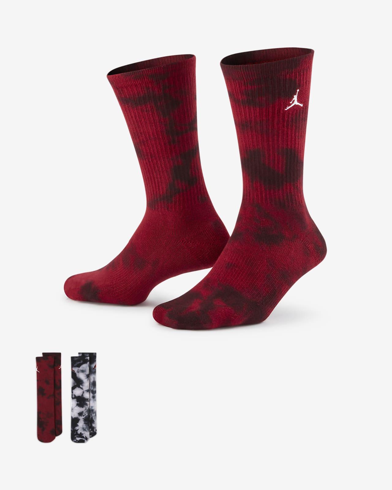 Calcetines largos teñidos Jordan para niños talla grande