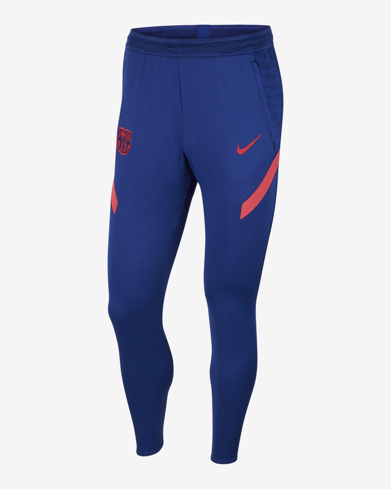 Pantalon de football en maille FC Barcelona Strike pour Homme