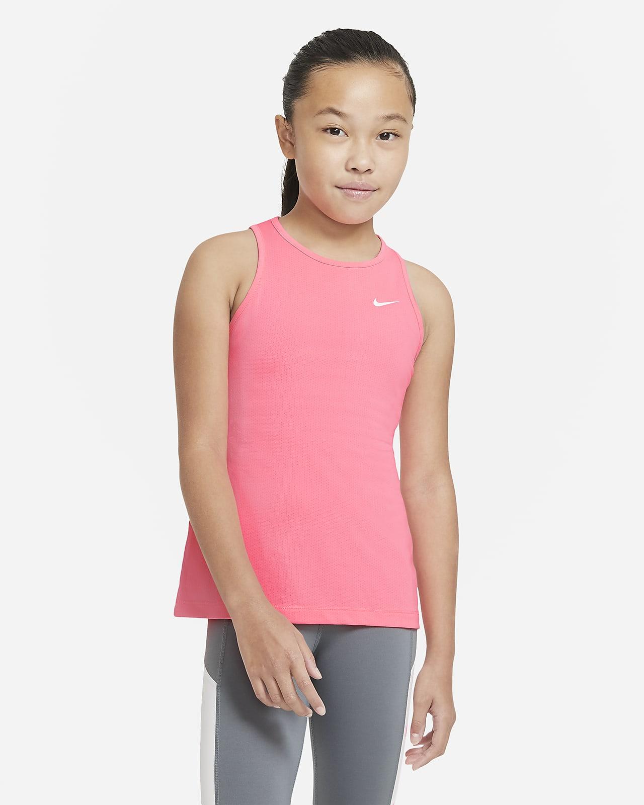 Φανελάκι Nike Pro για μεγάλα κορίτσια