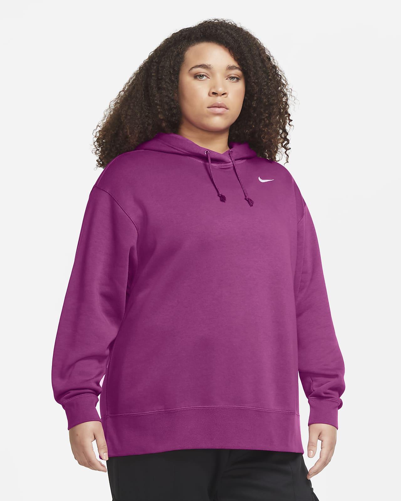 Женская флисовая худи Nike Sportswear (большие размеры)