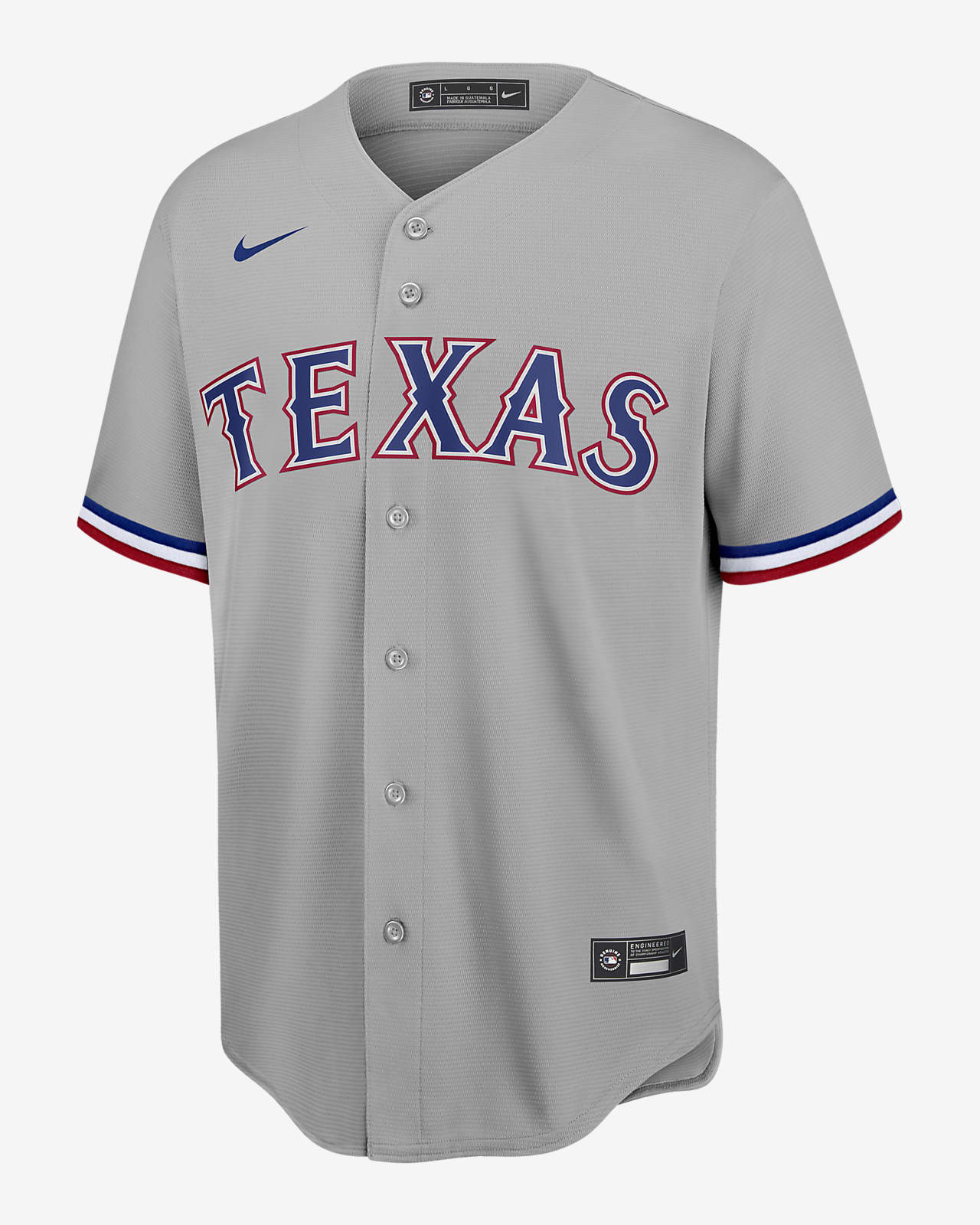 MLB Texas Rangers (Player) Men's Replica Baseball Jersey