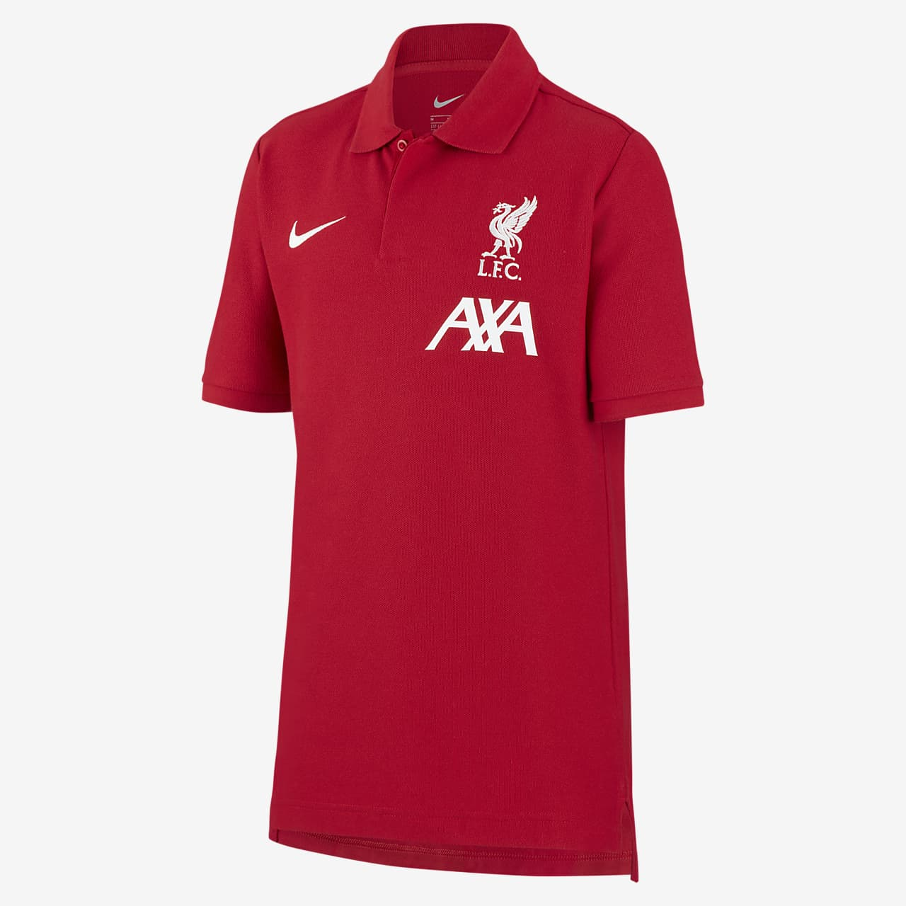 Liverpool F.C. Older Kids' Football Polo