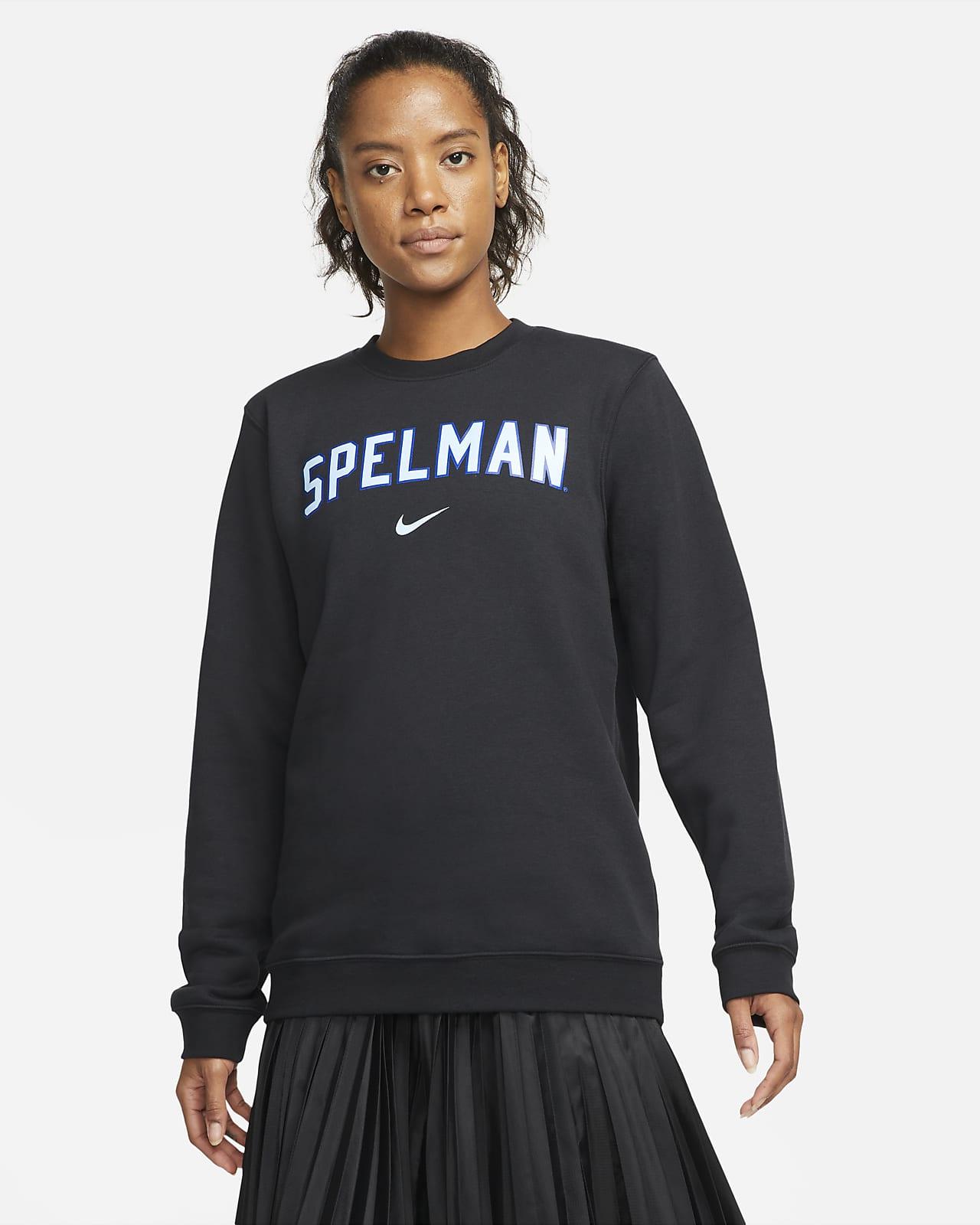 Nike College Club Fleece (Spelman) Crew Sweatshirt