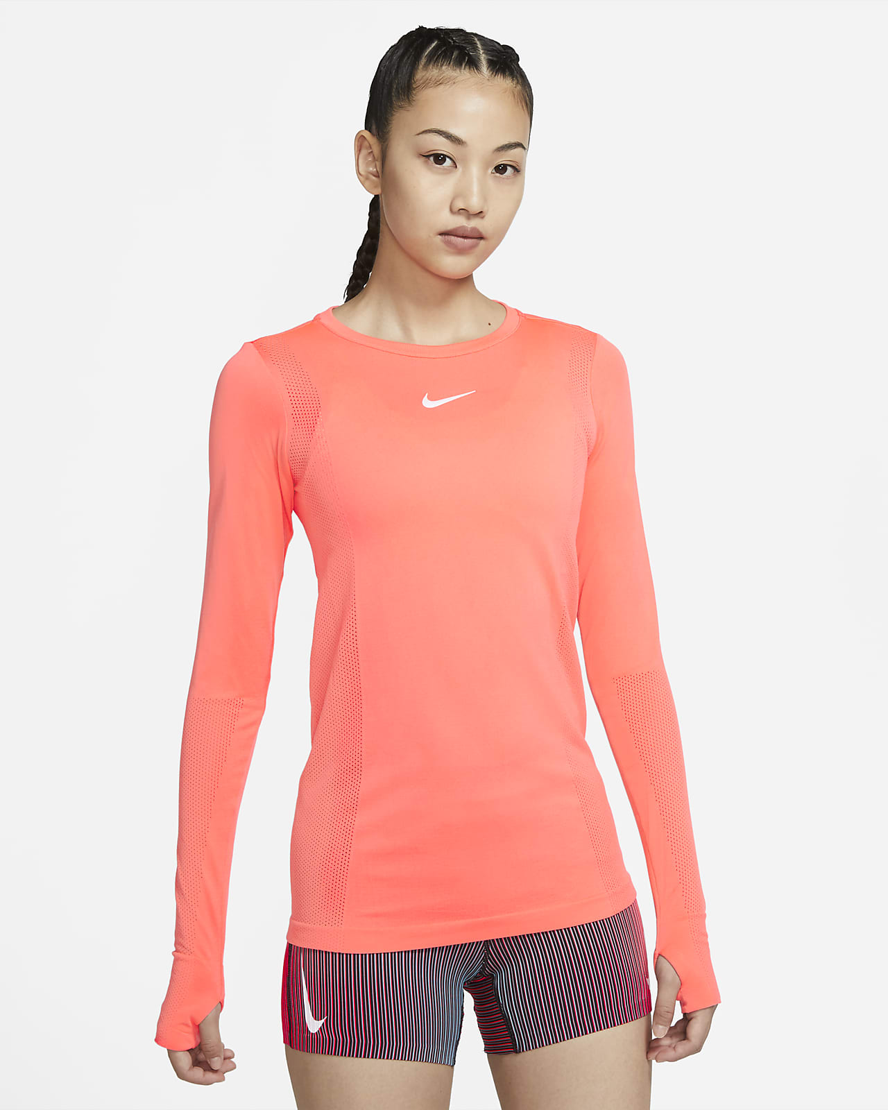 Nike Infinite 女子长袖跑步上衣