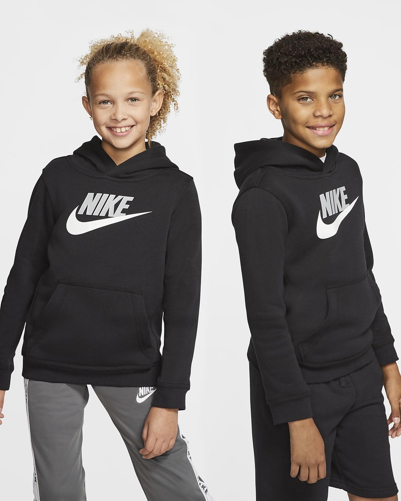 Store barn Barn Fotball Hettegensere og gensere. Nike NO