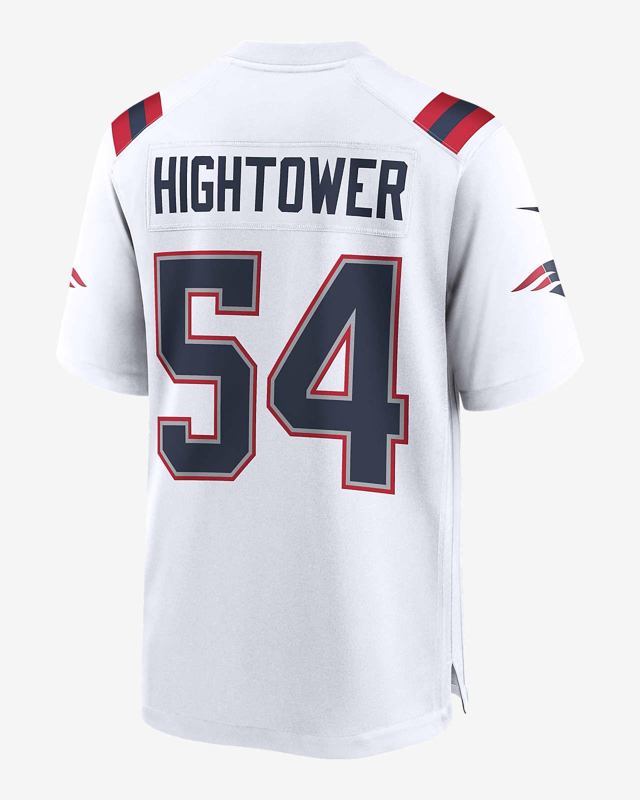 apoyo Hacer Ups  Camiseta de fútbol americano Game para hombre NFL New England Patriots  (Dont'a Hightower). Nike.com