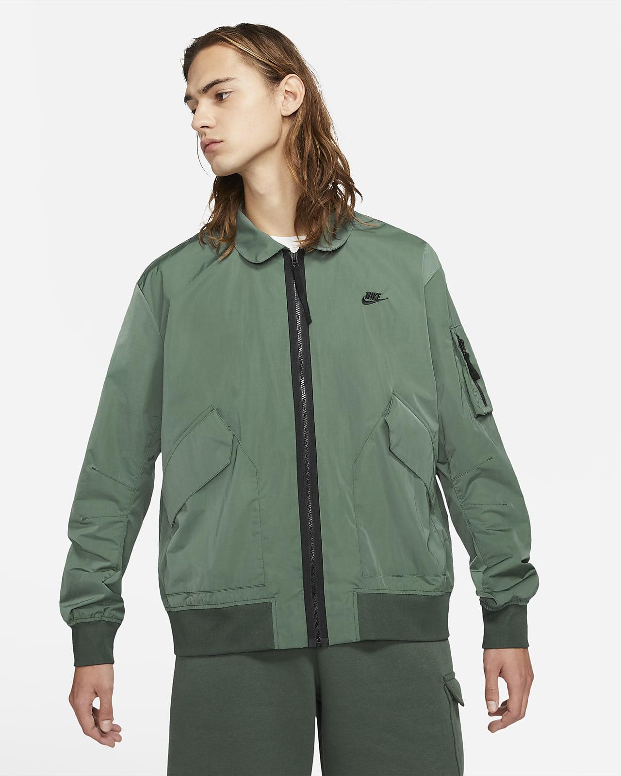 Veste aviateur non doublée Nike Sportswear Premium Essentials pour Homme