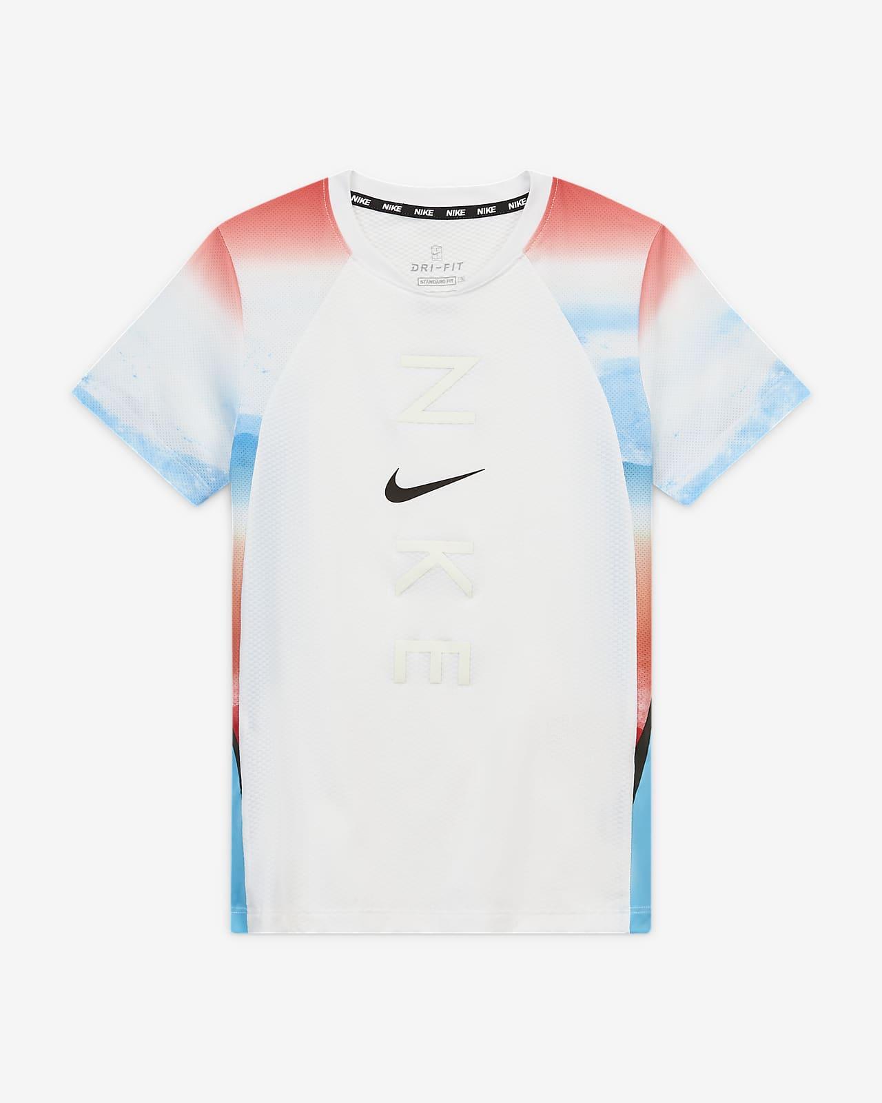 Футболка для тренинга для мальчиков школьного возраста Nike Instacool