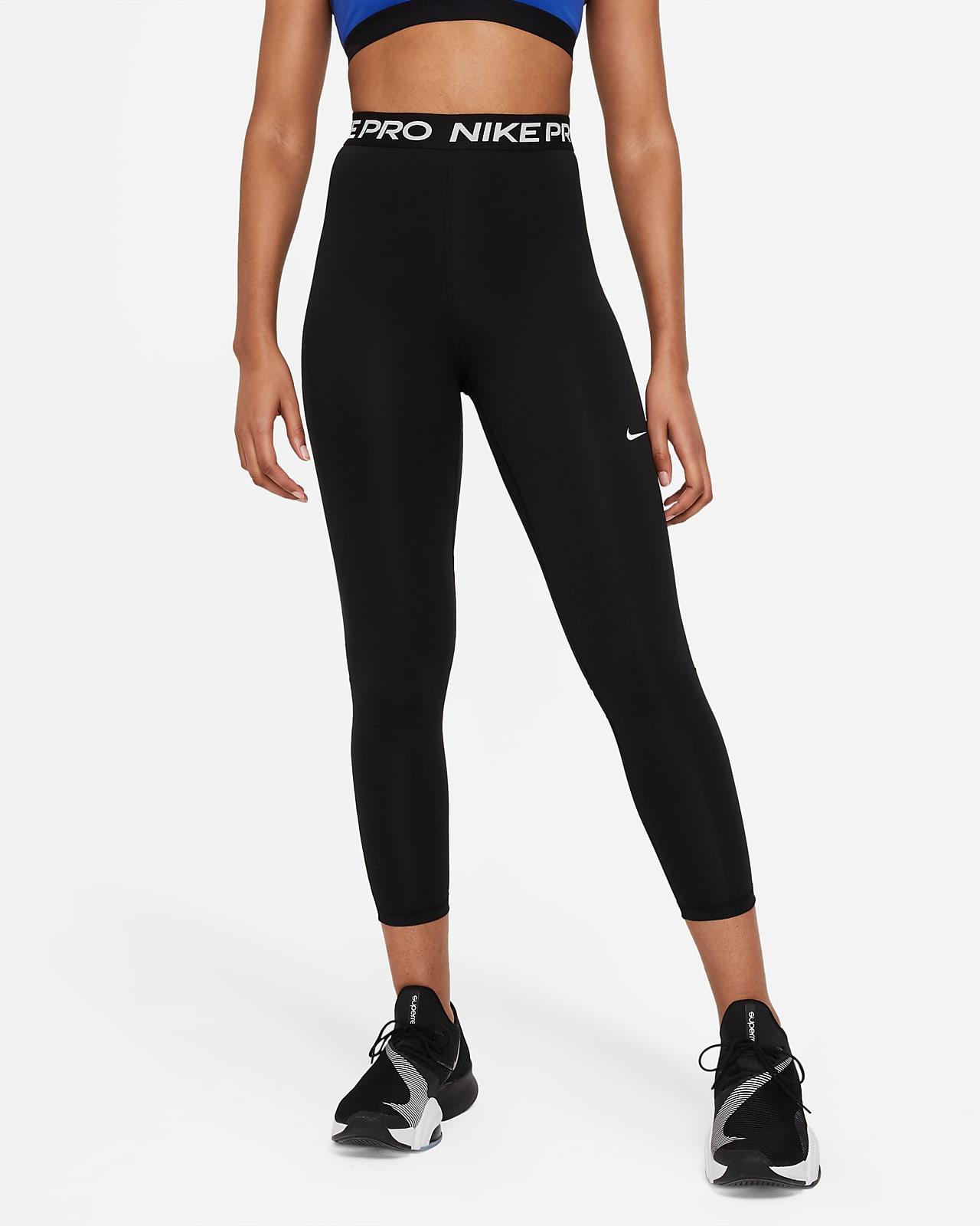 Nike Pro 365 7/8-Leggings mit hohem Bund für Damen