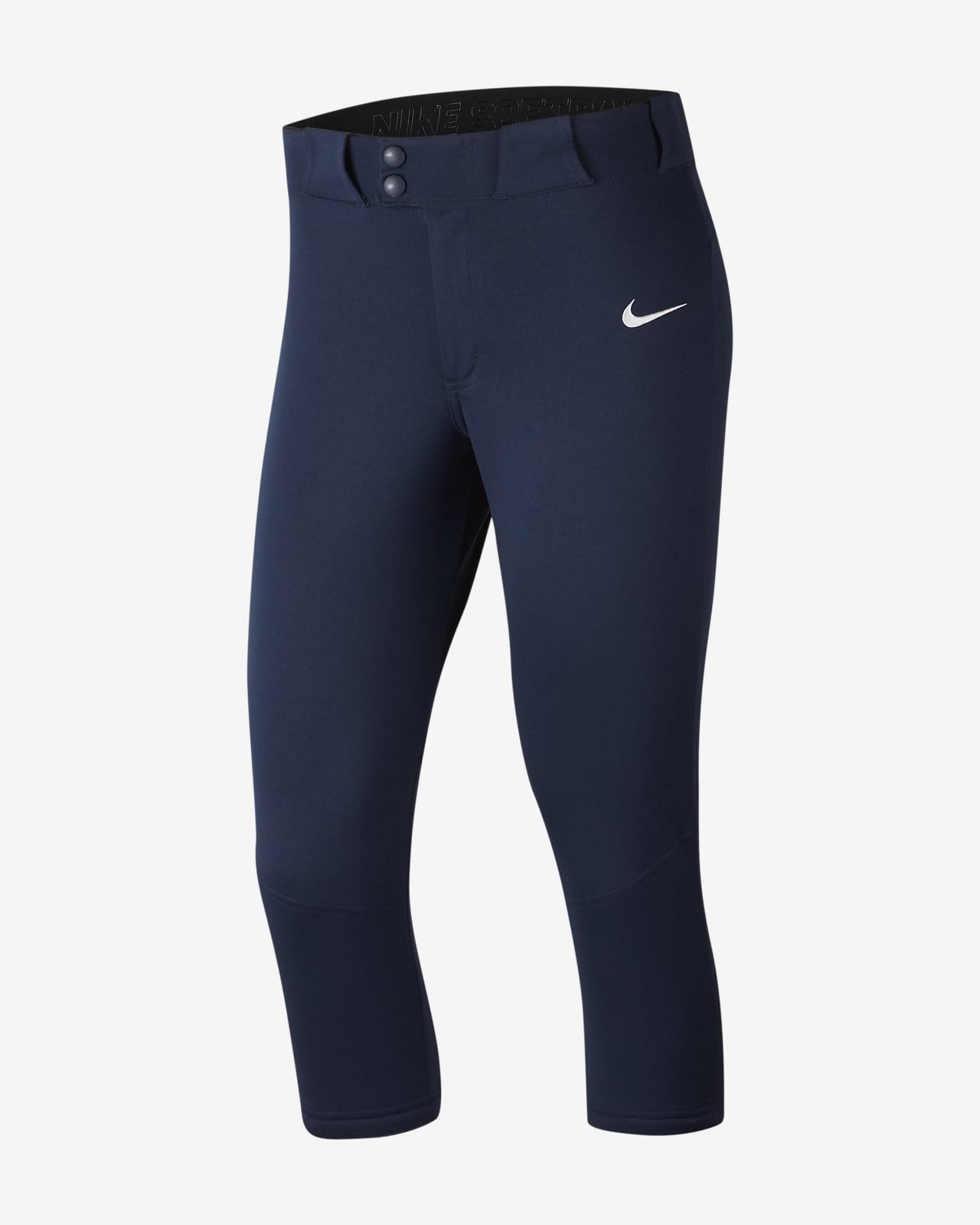 Pantalones De Softball Largo 3 4 Para Mujer Nike Vapor Select Nike Com