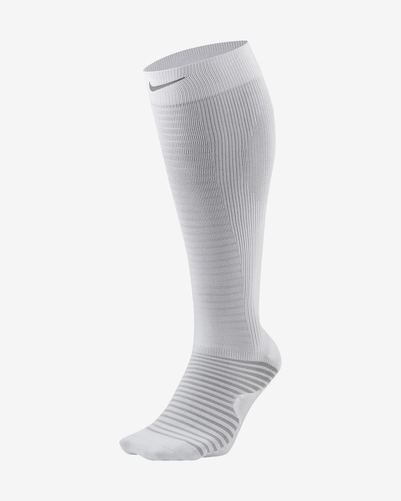Nike Spark Lightweight Over-The-Calf Compression Running Socks