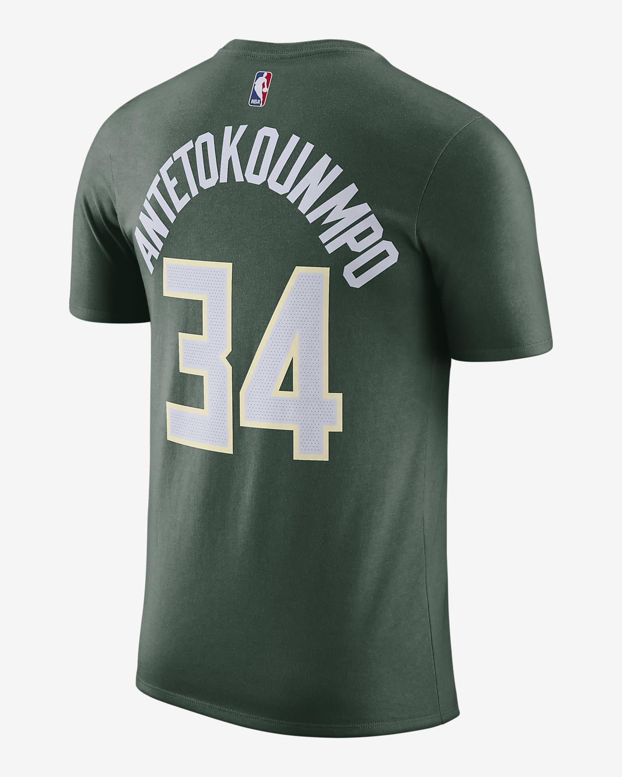 Giannis Antetokounmpo Bucks Nike NBA-T-Shirt für Herren. Nike DE