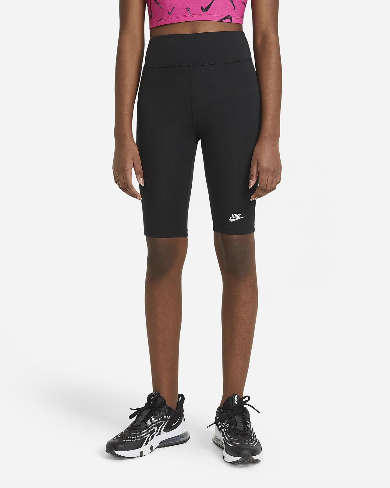 Shorts da ciclista 23 cm a vita alta Nike Sportswear - Ragazza