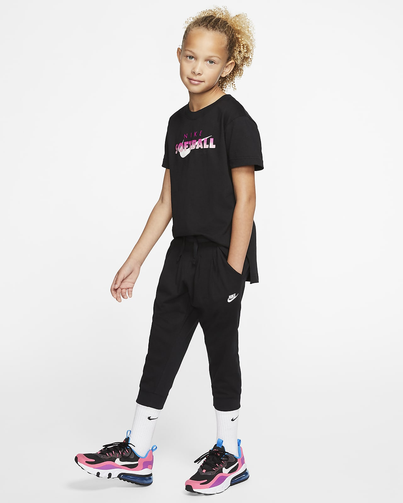Nike Sportswear Big Kids' (Girls') Capris. Nike.com