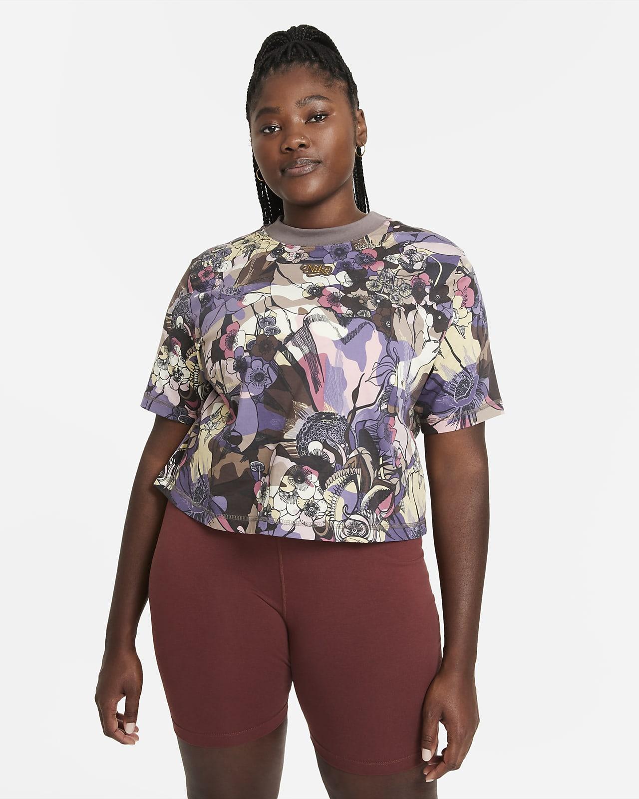 Camiseta de manga corta para mujer Nike Sportswear Femme (talla grande)