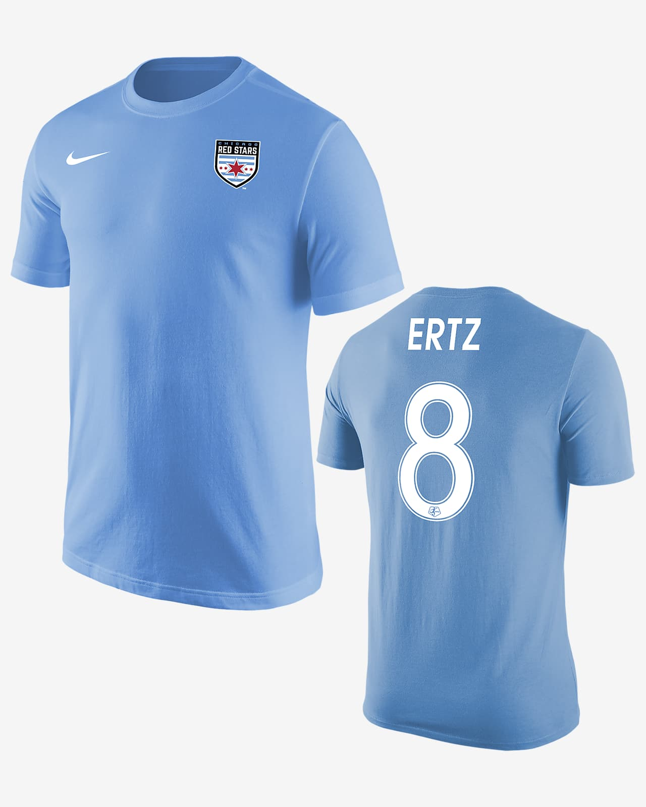 Playera de fútbol Chicago Red Stars Julie Ertz