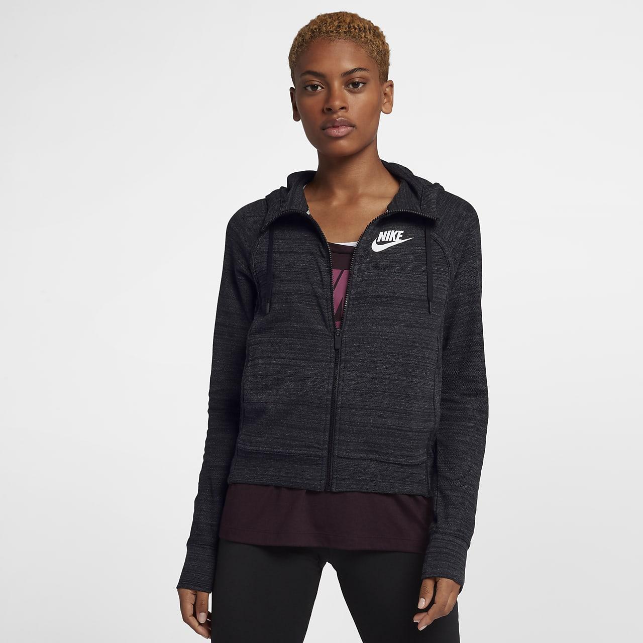 Nike Sportswear Advance 15 Örgü Kadın Ceketi