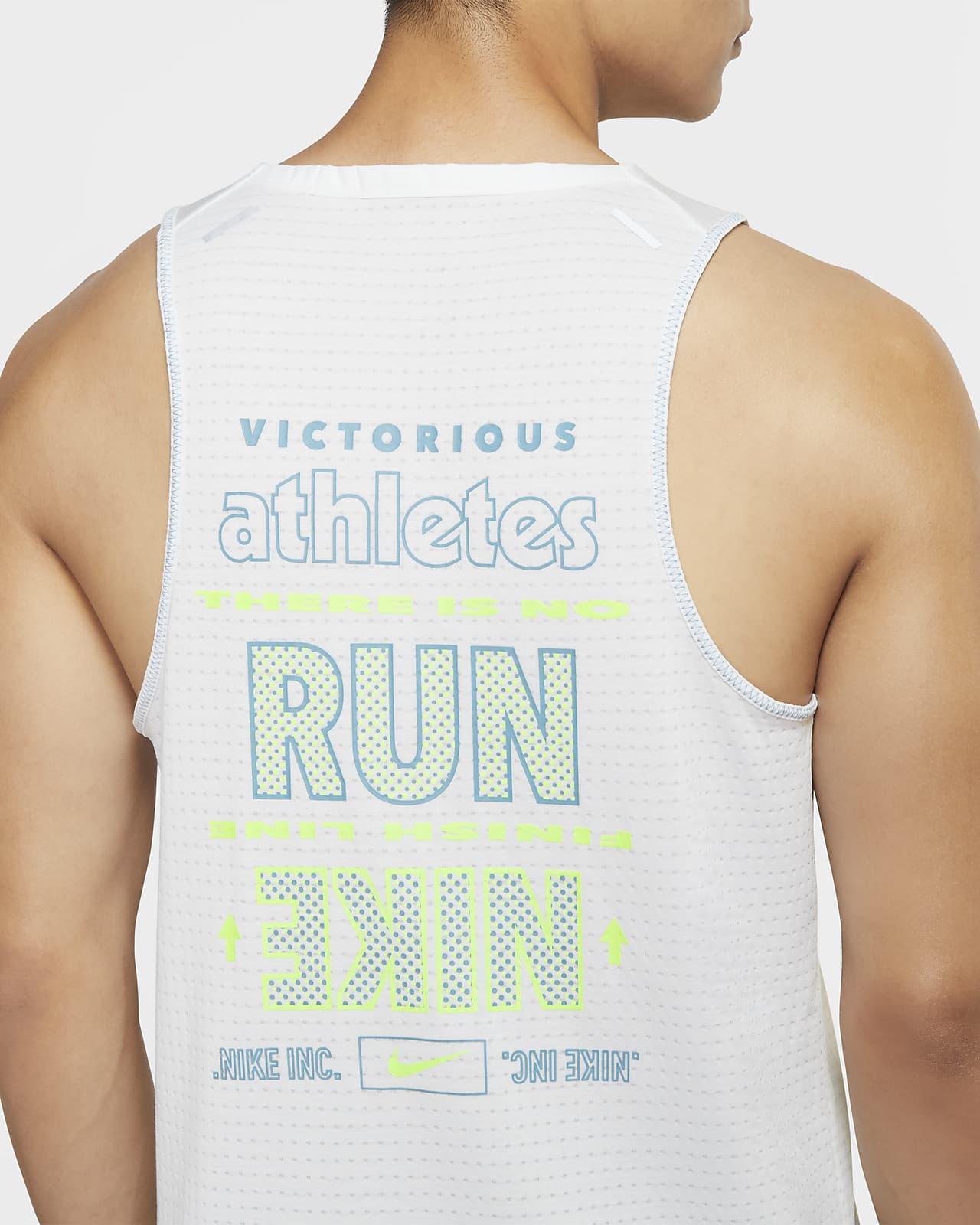 Haut de running sans manches Nike Rise 365 Wild Run pour Homme