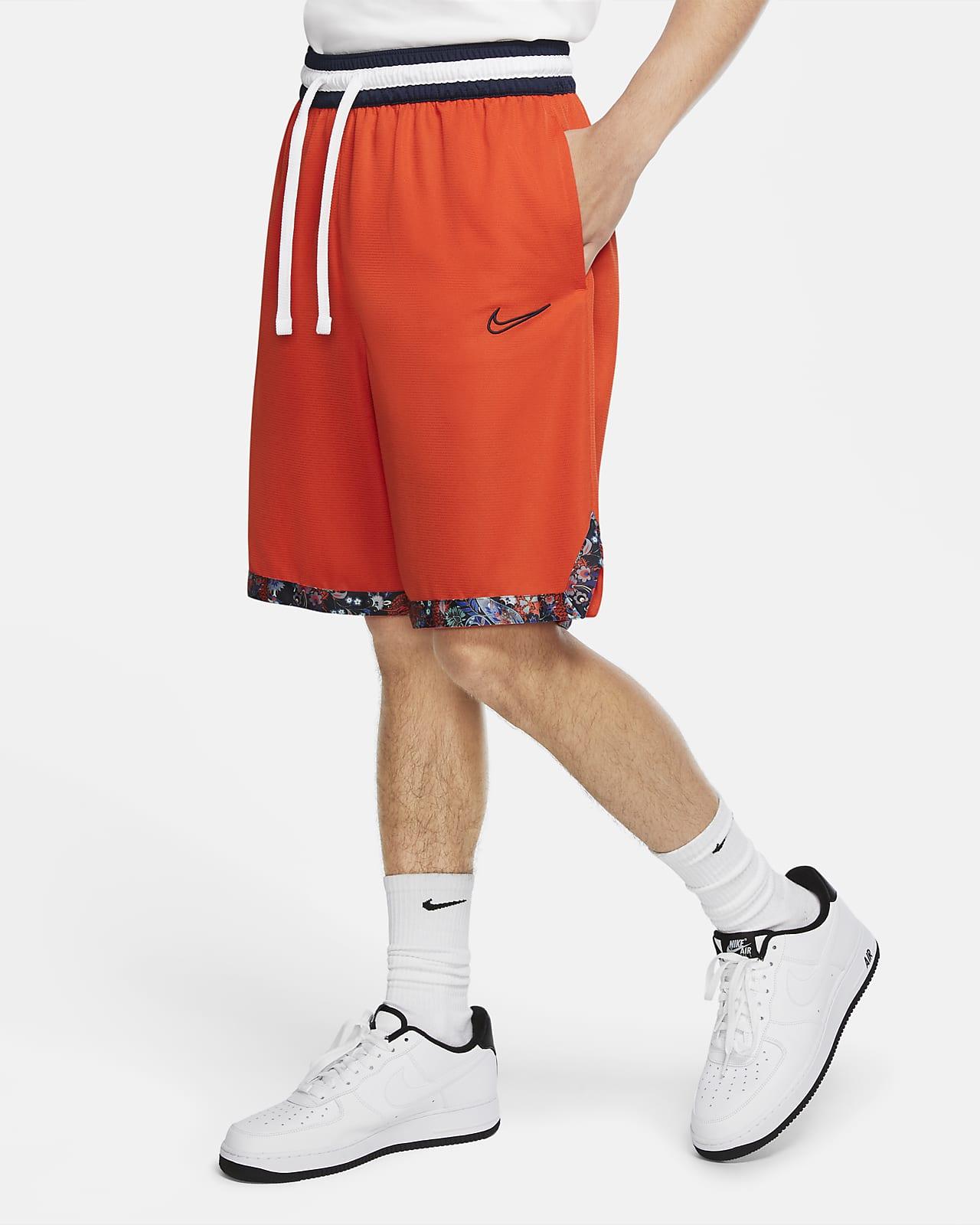 กางเกงบาสเก็ตบอลขาสั้นผู้ชาย Nike Dri-FIT DNA