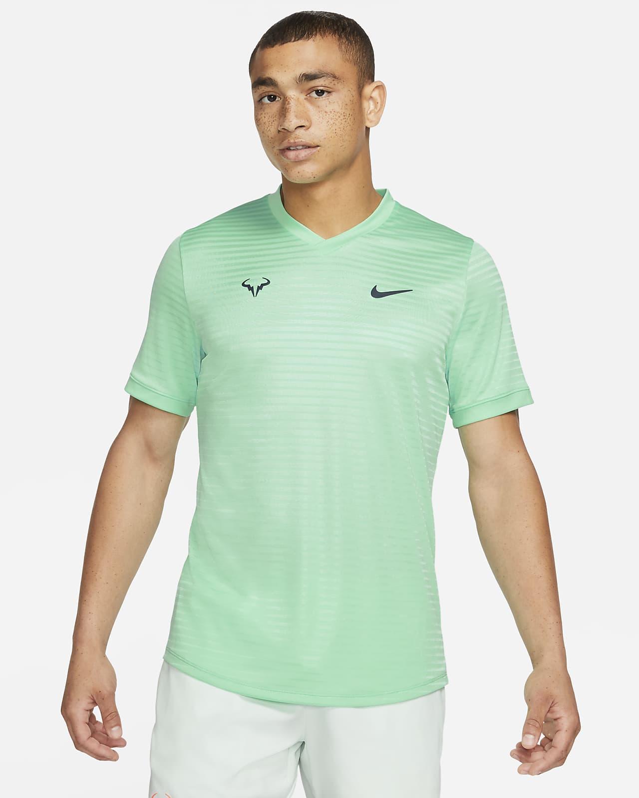 Мужская теннисная футболка с коротким рукавом Rafa Challenger