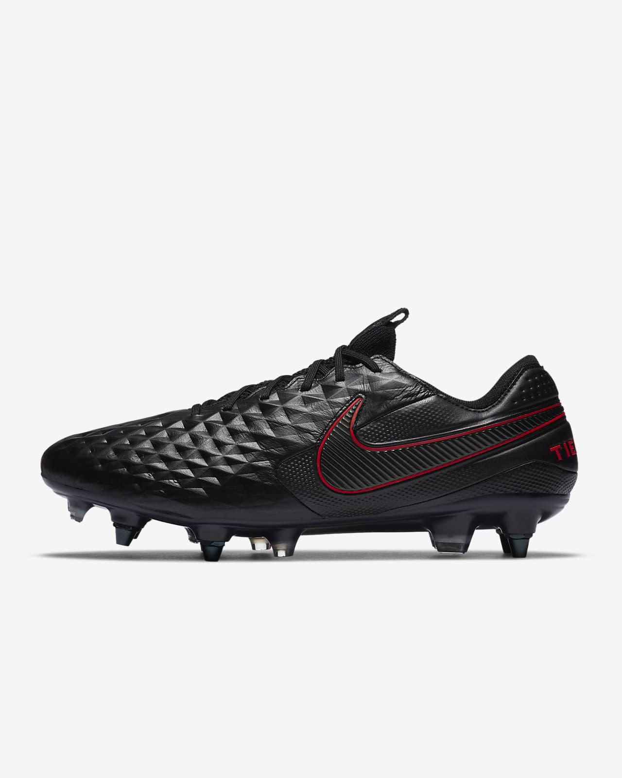 Футбольные бутсы для игры на мягком грунте Nike Tiempo Legend 8 Elite SG-PRO Anti-Clog Traction
