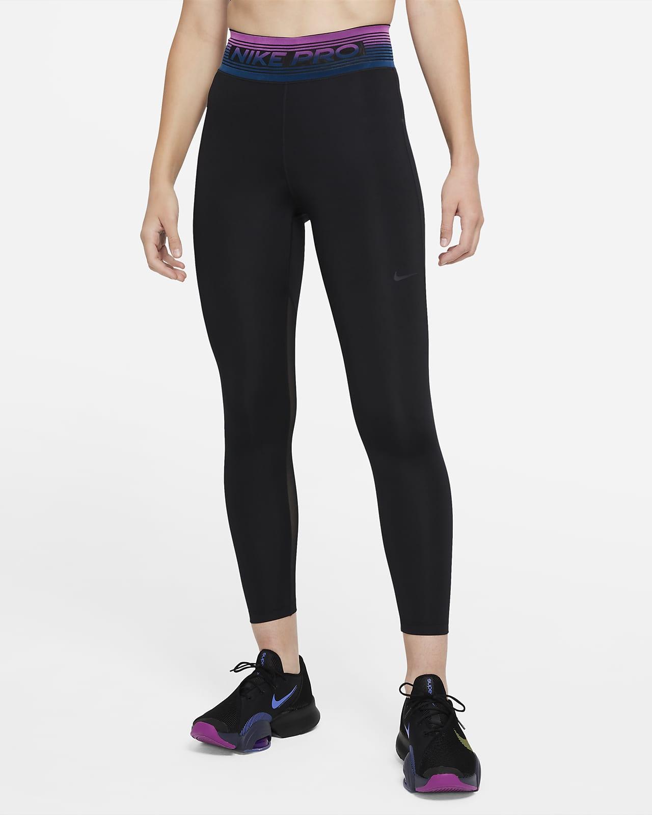 Leggings de 7/8 de tiro medio para mujer Nike Pro