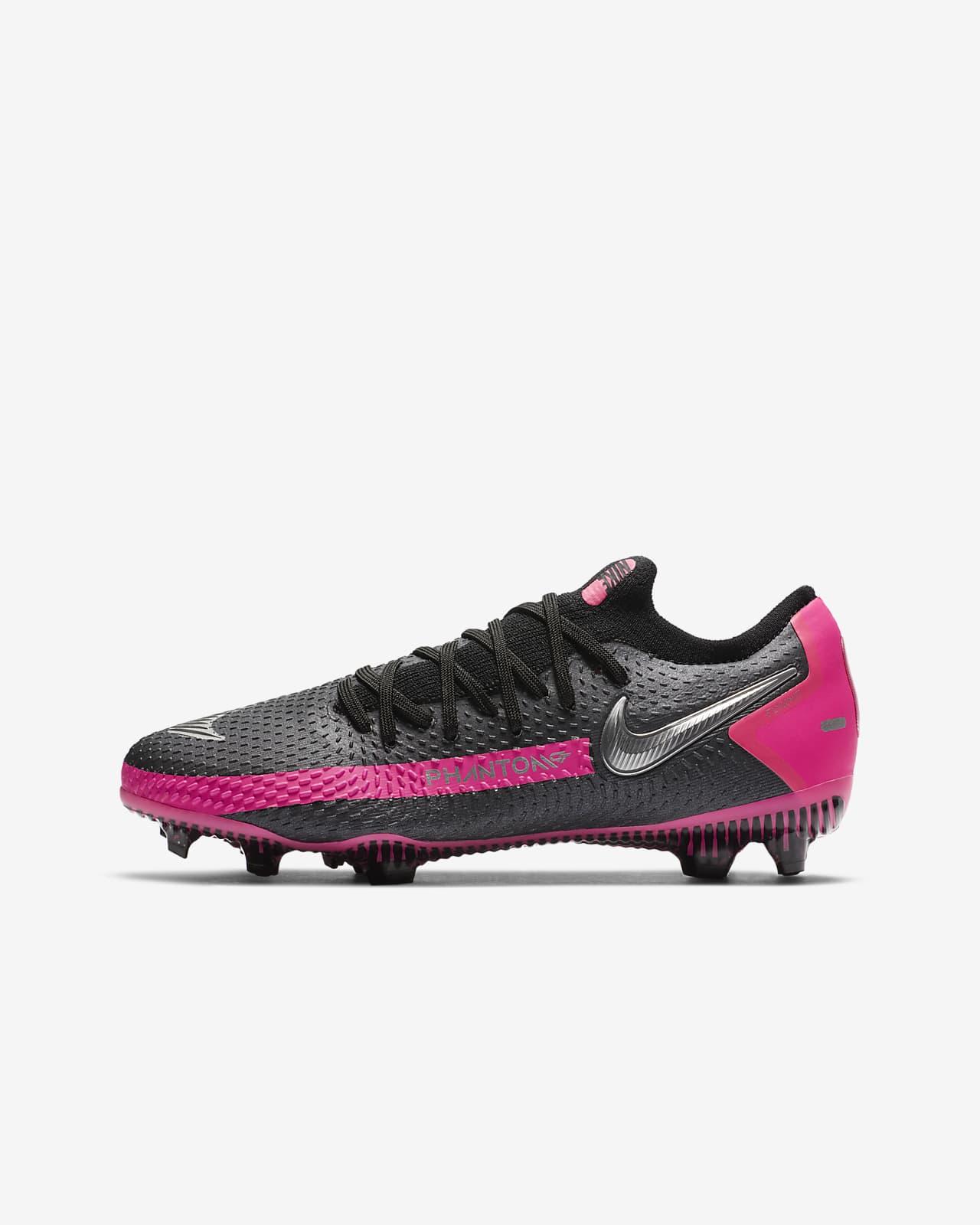 Nike Jr. Phantom GT Pro FG Fußballschuh für normalen Rasen für ältere Kinder