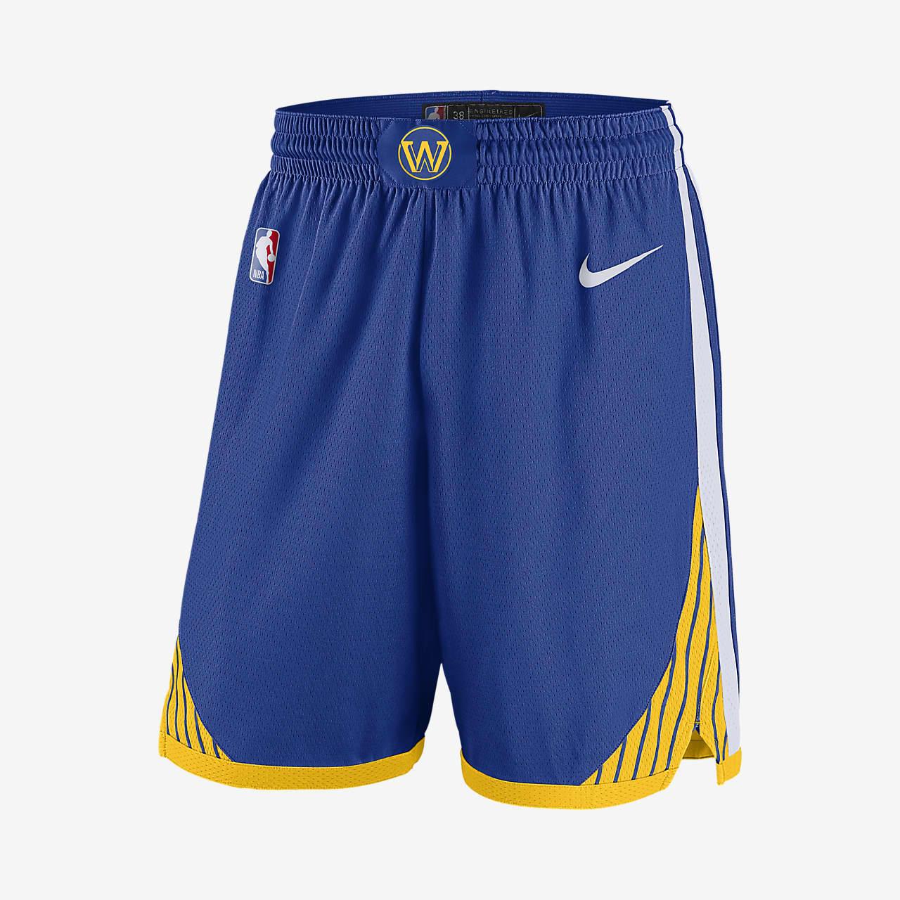 Golden State Warriors Icon Edition Nike NBA Swingman Shorts für Herren
