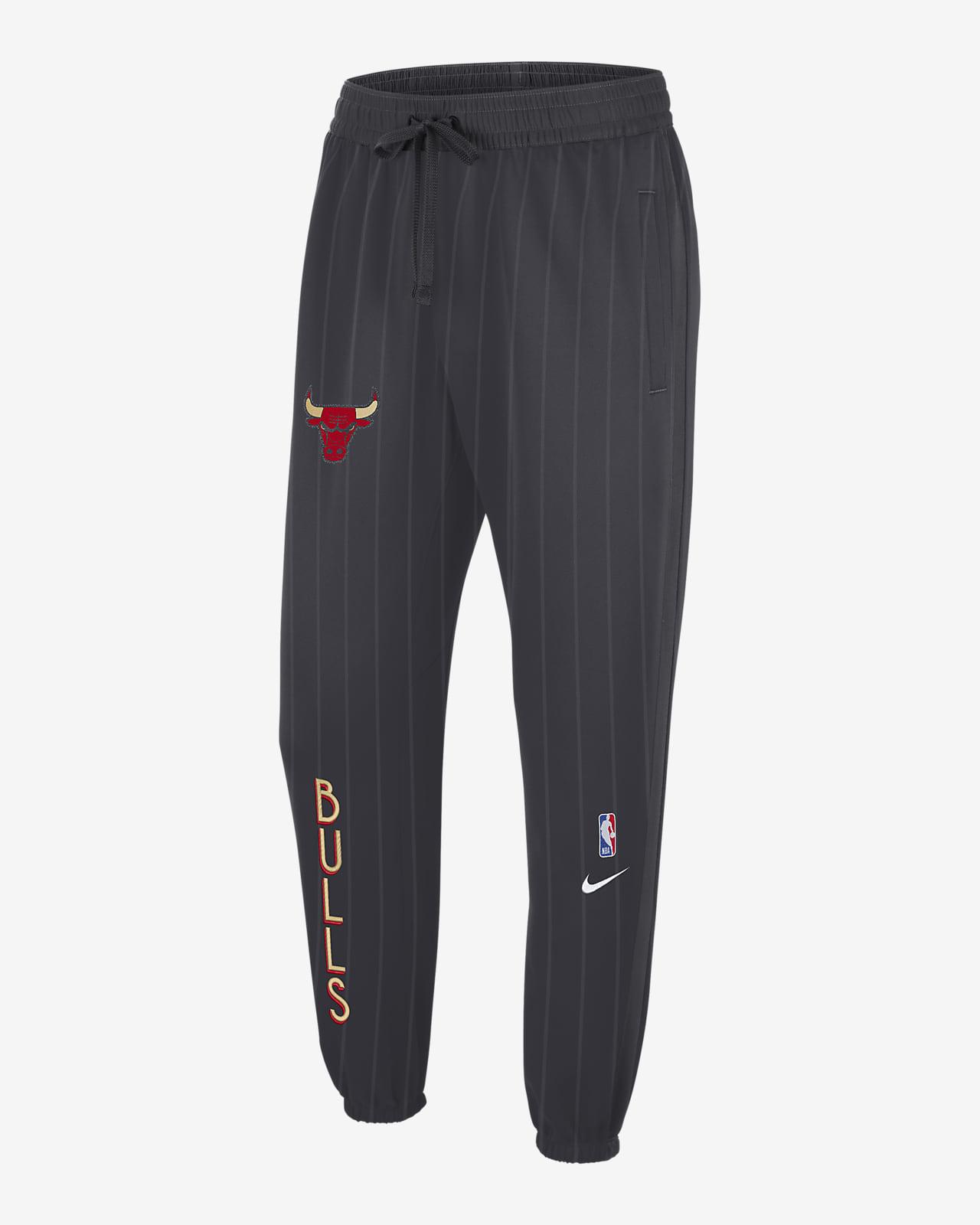 Chicago Bulls Showtime City Edition Nike Therma Flex NBA-Hose für Herren