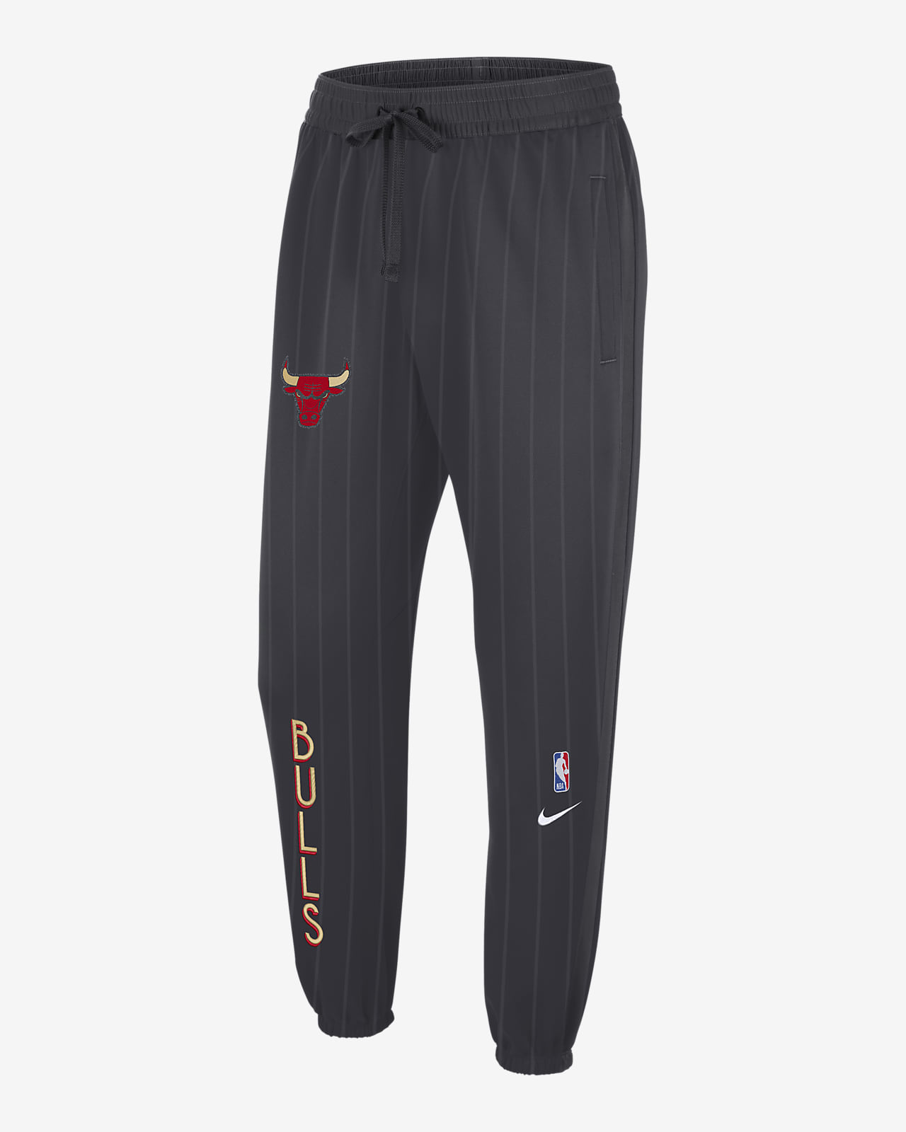 Chicago Bulls Showtime City Edition Men's Nike Therma Flex NBA Trousers