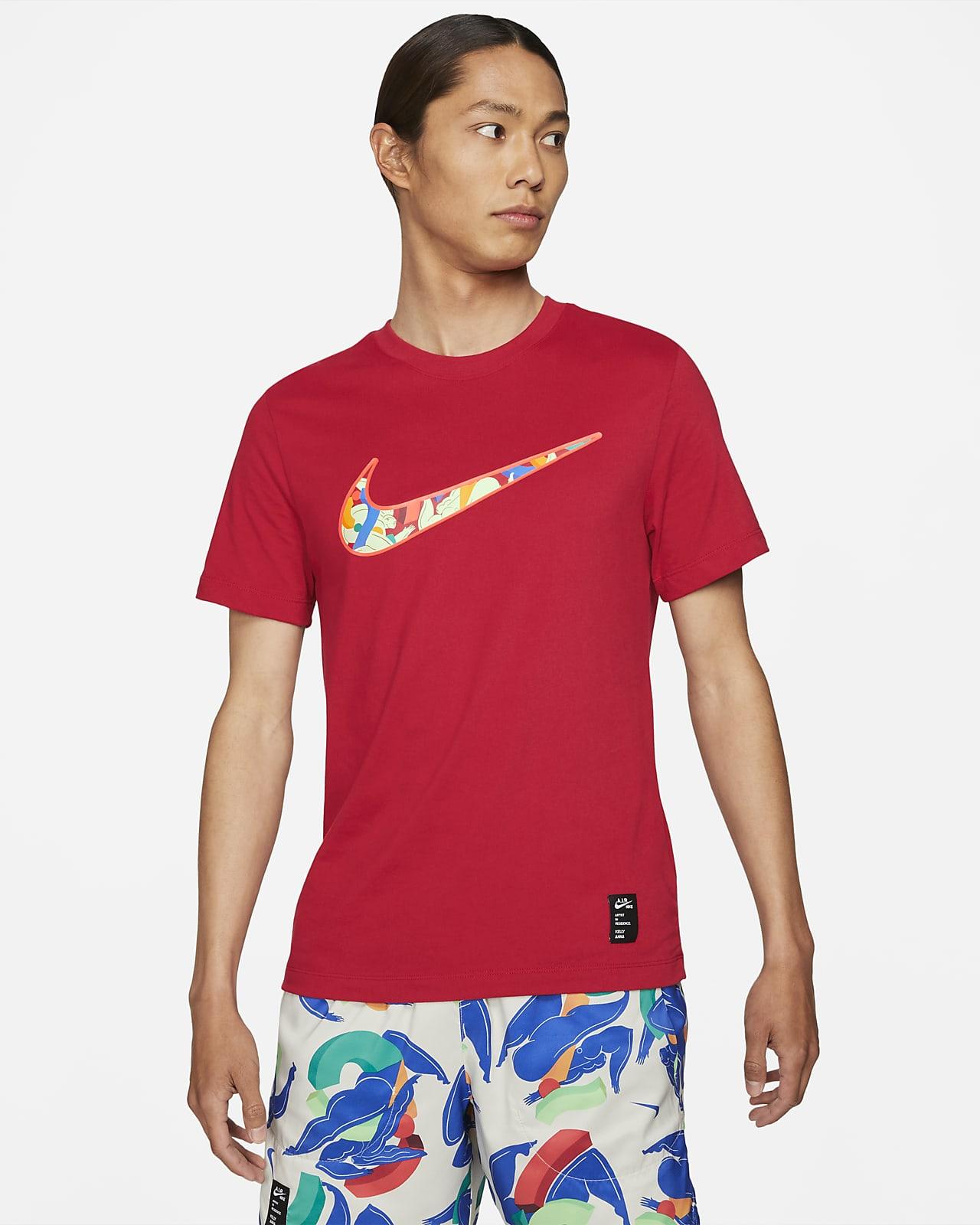 Nike Dri-FIT A.I.R. เสื้อยืดวิ่งผู้ชาย Kelly Anna London