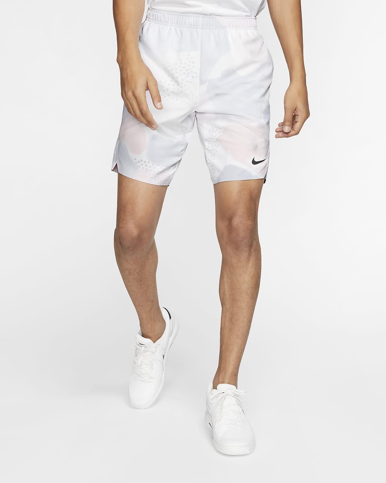ナイキコート フレックス エース メンズ プリンテッド テニスショートパンツ