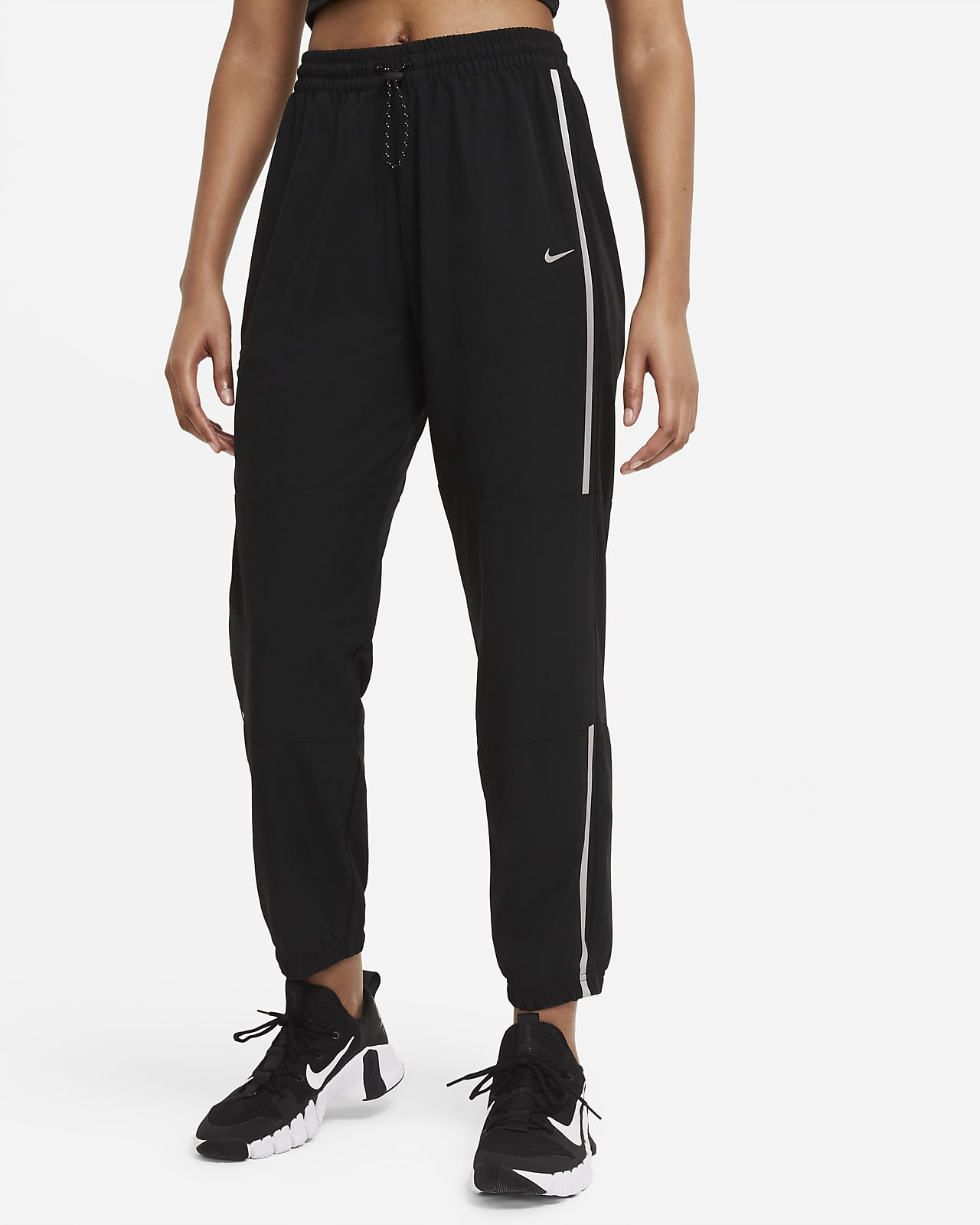 Pantaloni in tessuto Nike Pro - Donna
