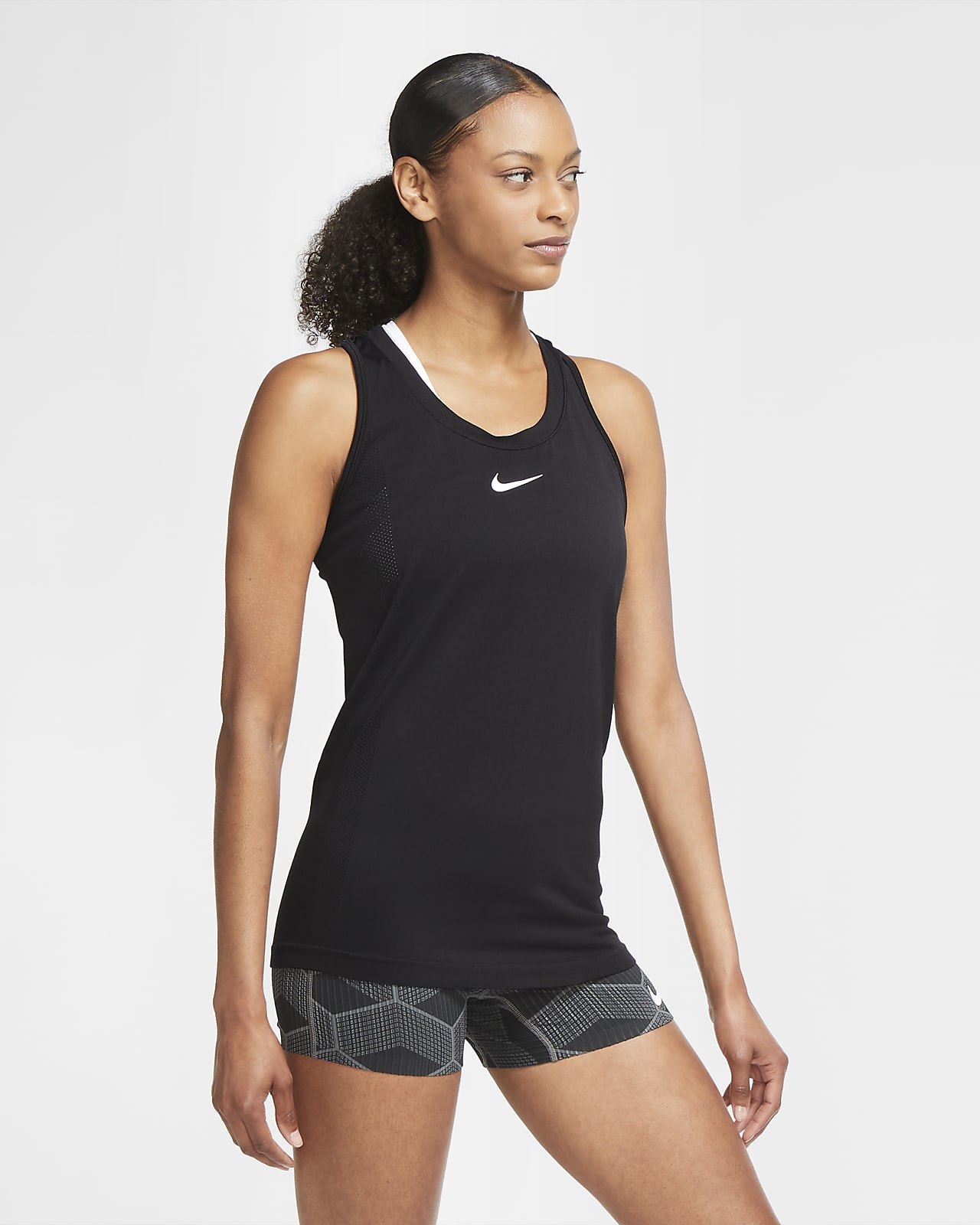 Camisola de running sem mangas Nike Infinite para mulher