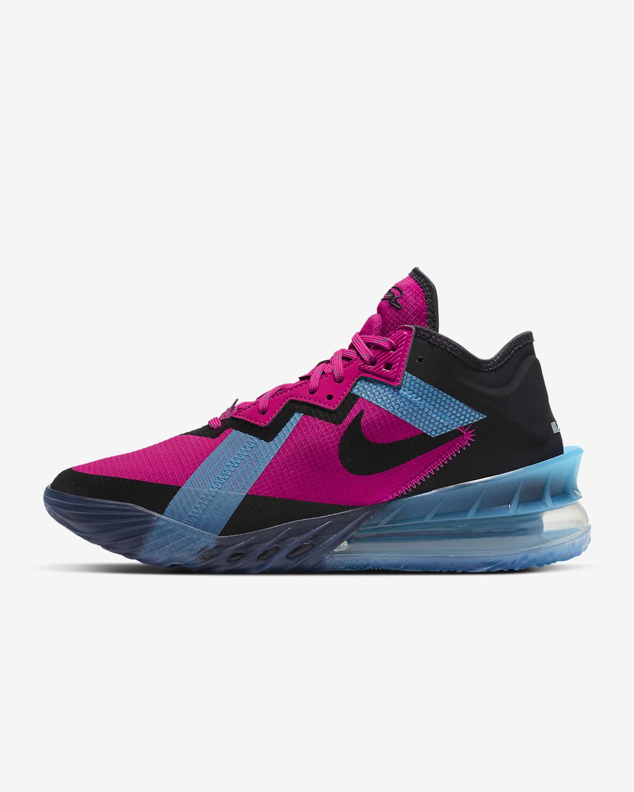 """LeBron 18 Low """"Neon Nights"""" Basketball Shoe"""