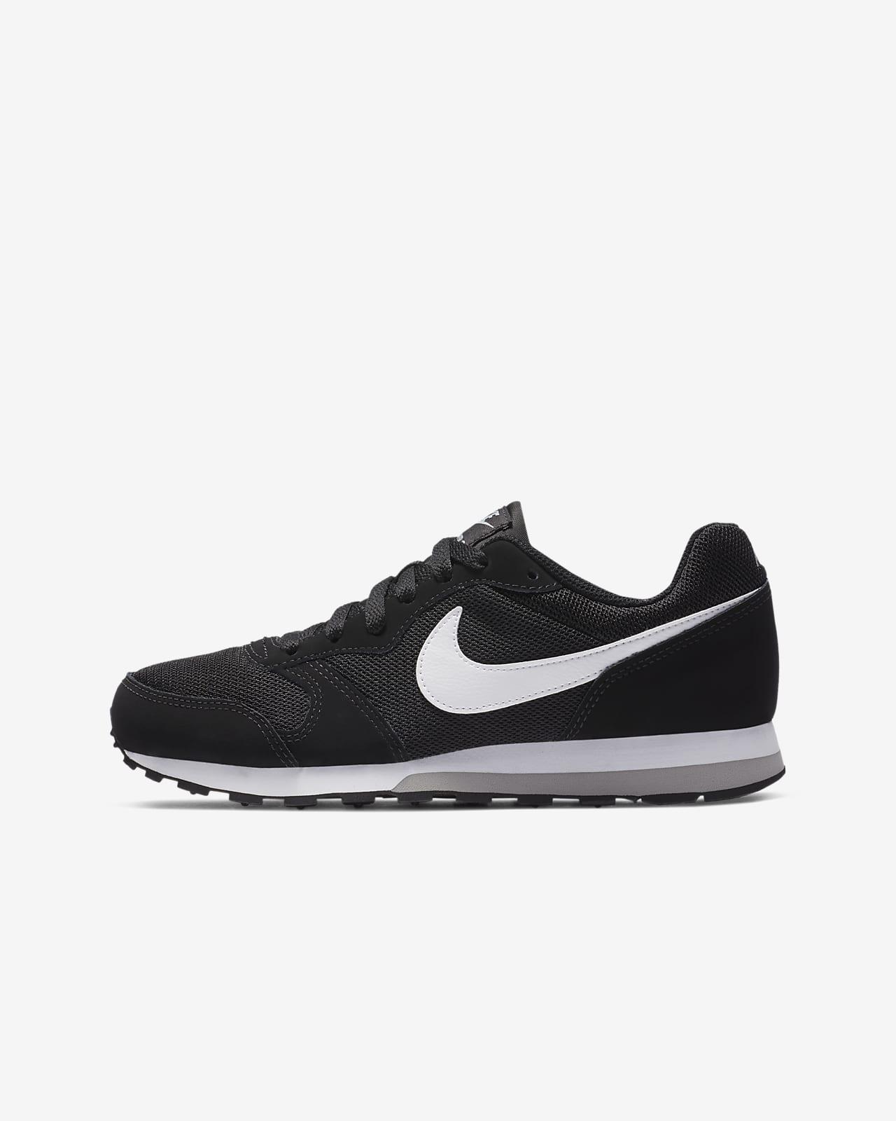 zapatillas nike runner md 2 niño grises
