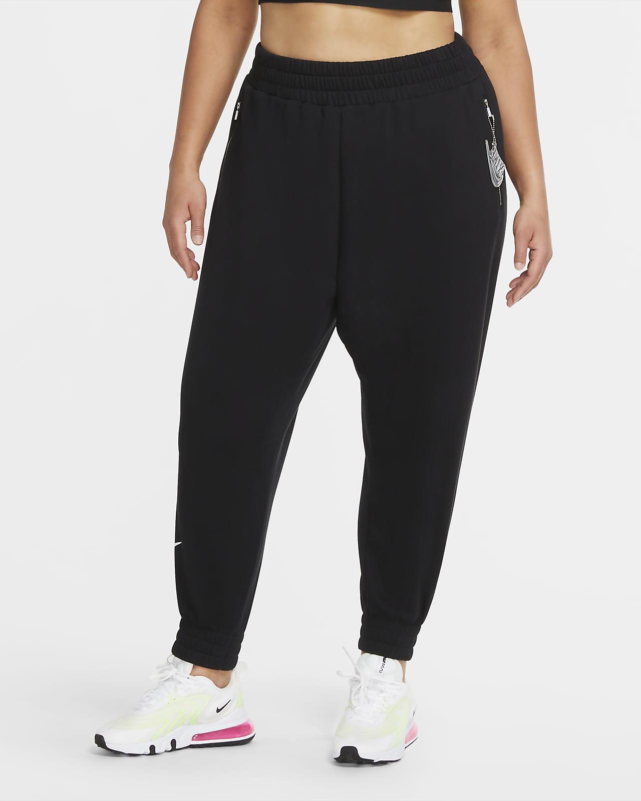 Calças de lã cardada a 7/8 Nike Air para mulher (tamanhos grandes)