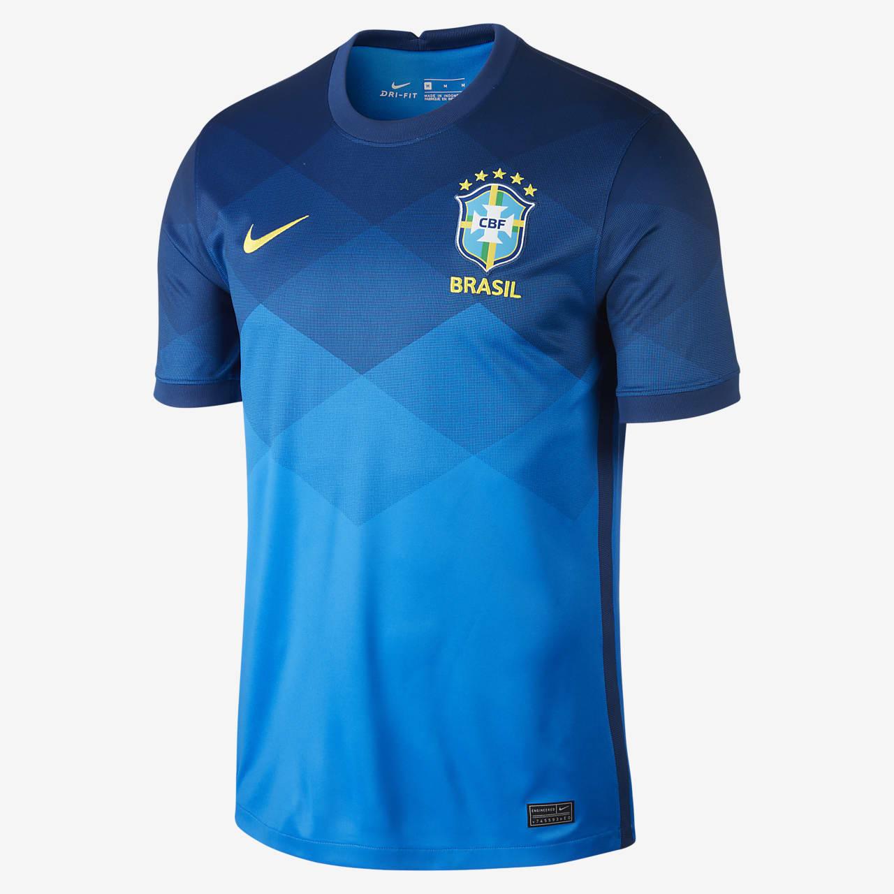 Camiseta de fútbol de visitante para hombre Stadium Brasil 2020