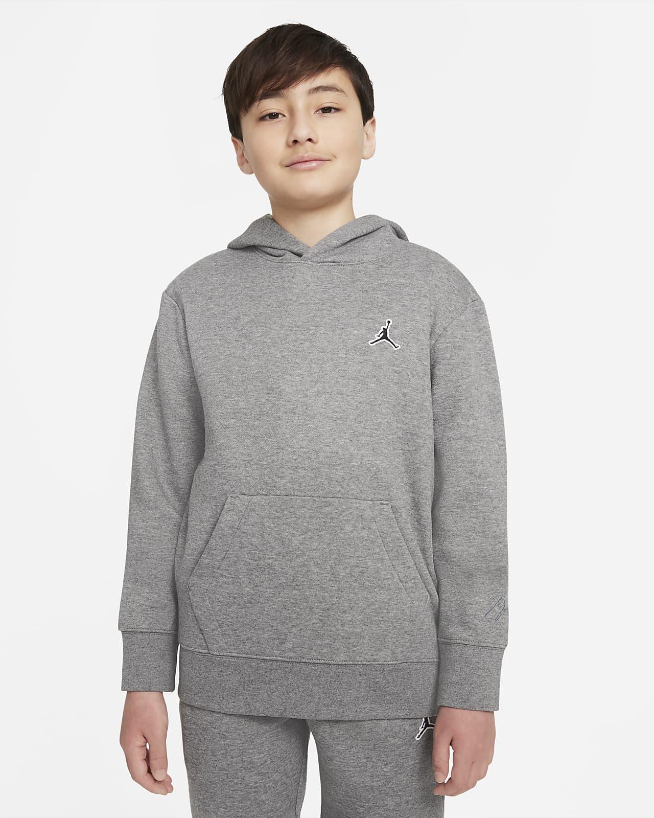 Sudadera con capucha sin cierre para niño talla grande Jordan