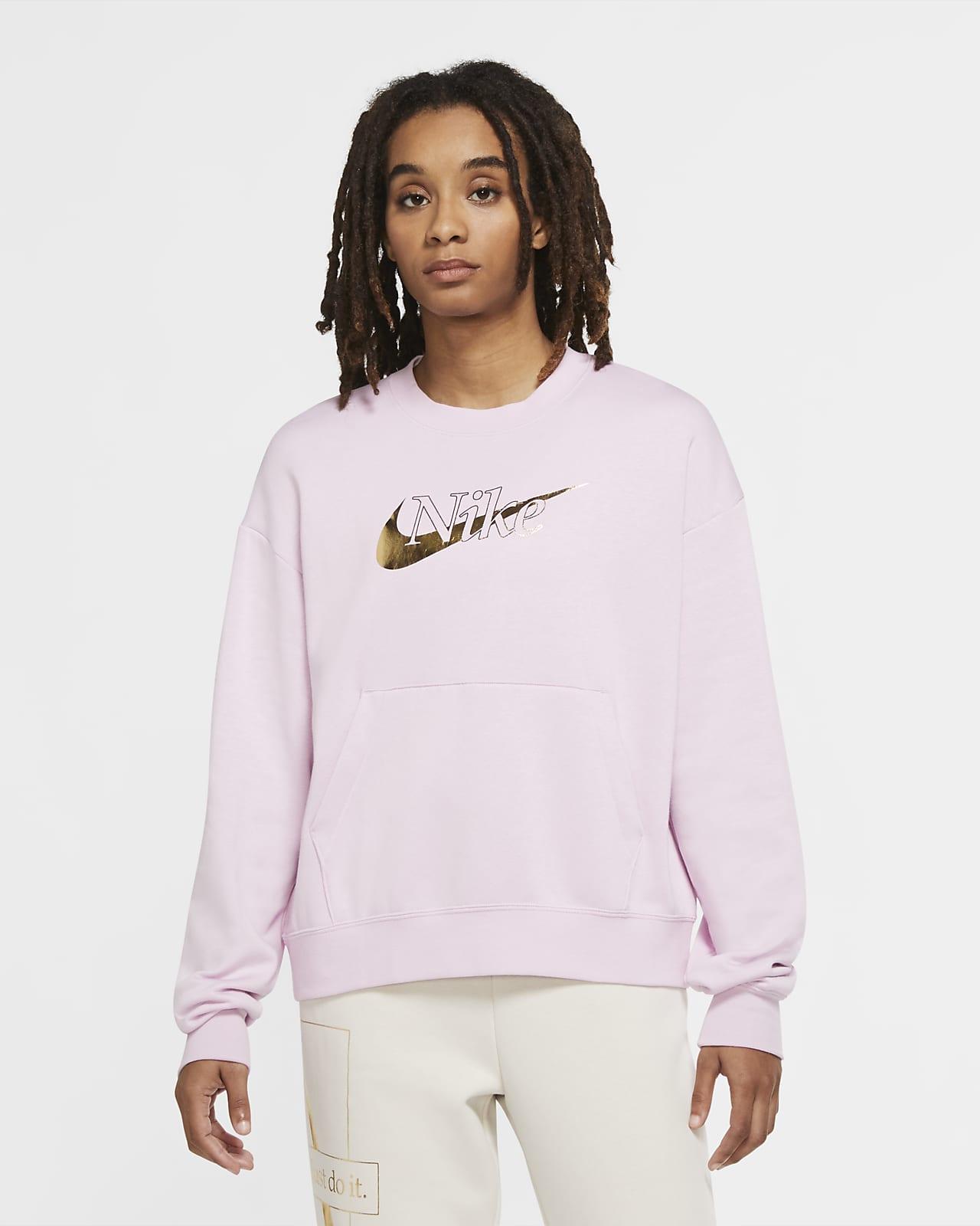 Sudadera de tejido Fleece para mujer Nike Sportswear Icon Clash