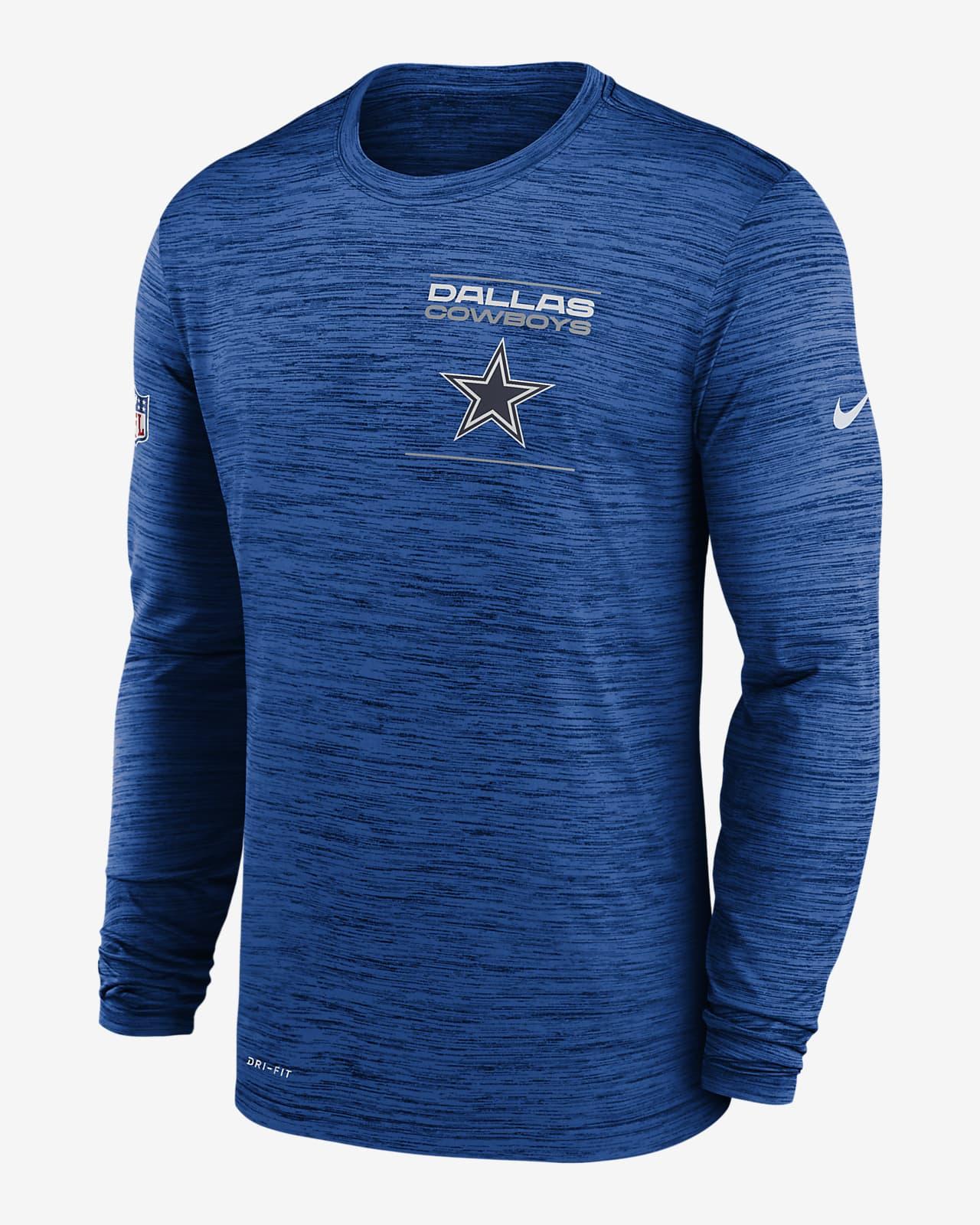 Nike Dri-FIT Sideline Velocity Legend (NFL Dallas Cowboys) Men's Long-Sleeve T-Shirt