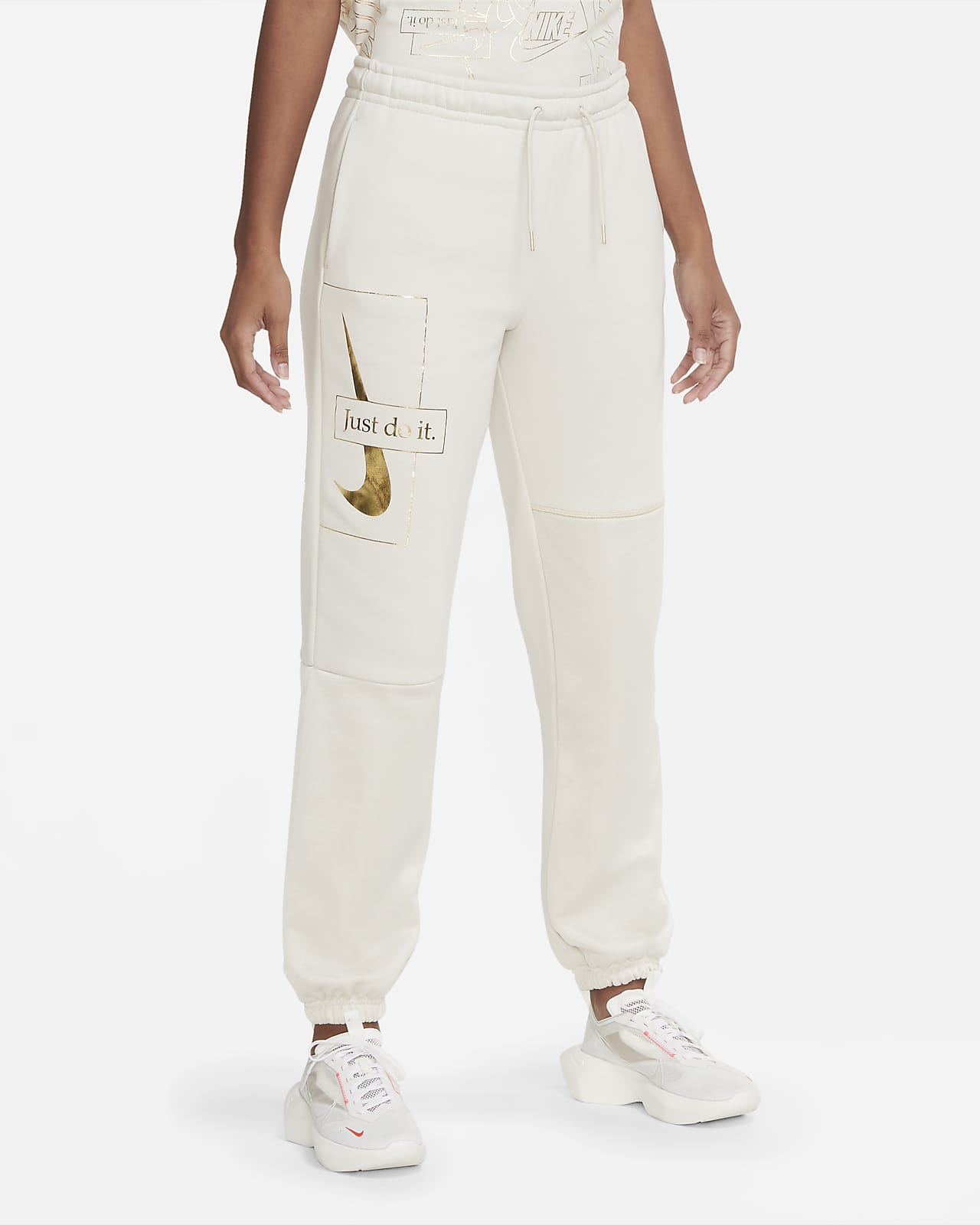 Nike Sportswear Icon Clash-bukser til kvinder