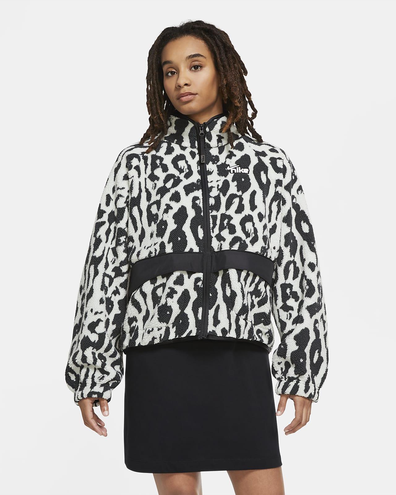 Chamarra de Sherpa para mujer Nike Sportswear