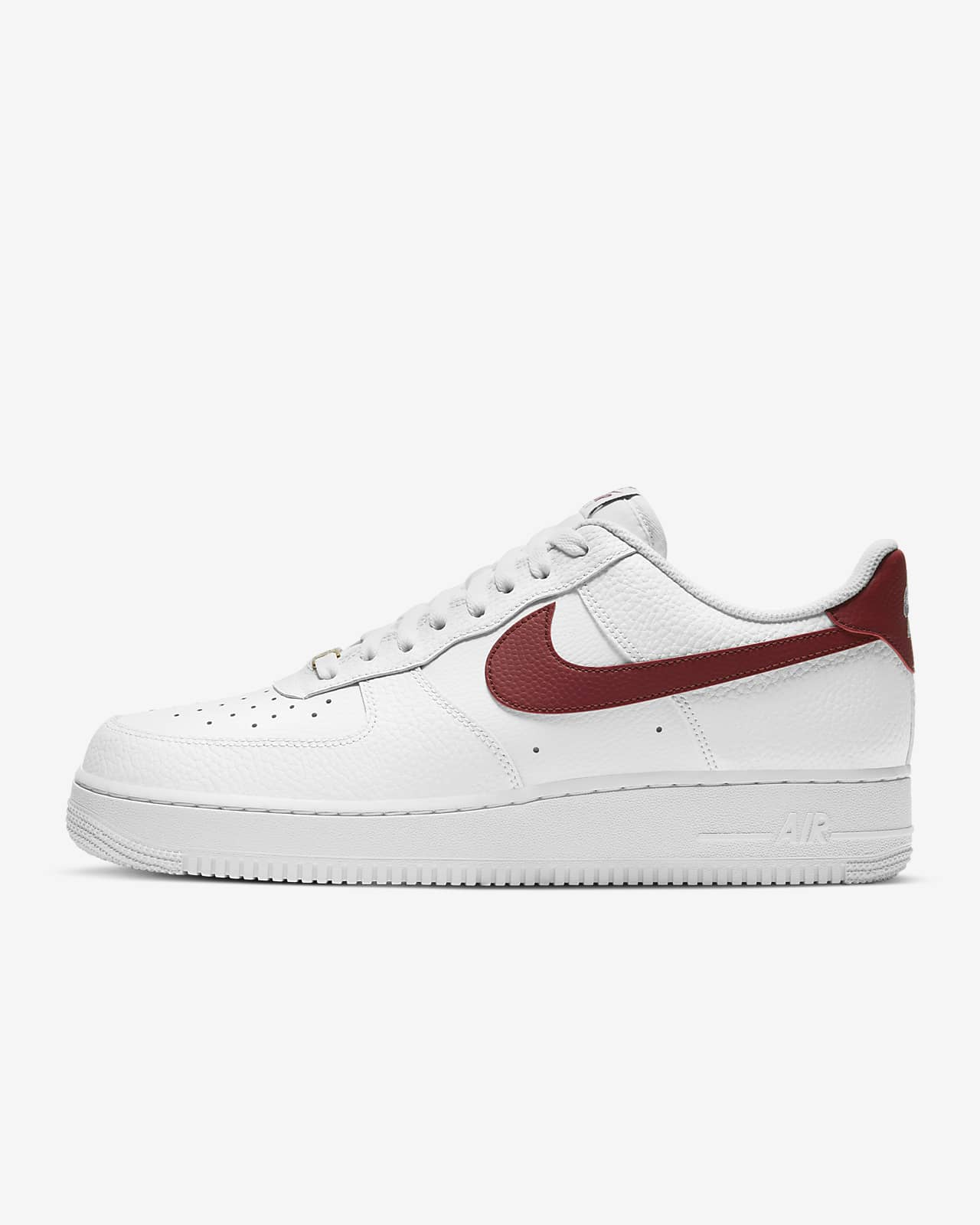 nike air force 1 07 blanche et rouge