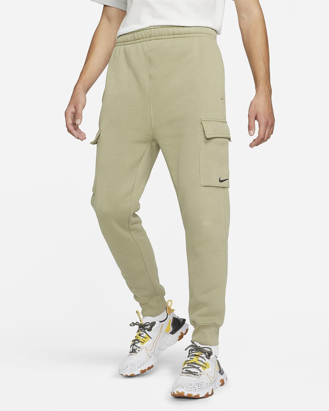 Vävda cargobyxor i fleece Nike Sportswear för män