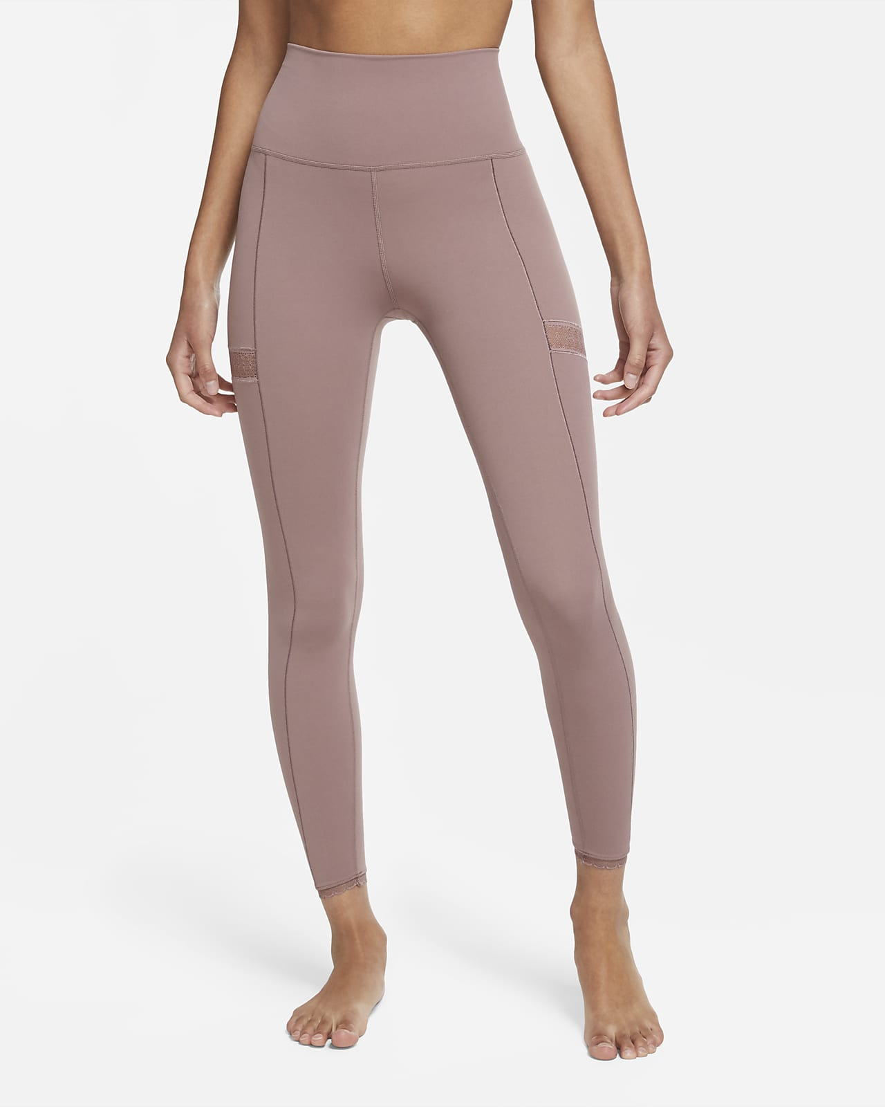 Nike Yoga tights i 7/8-lengde til dame