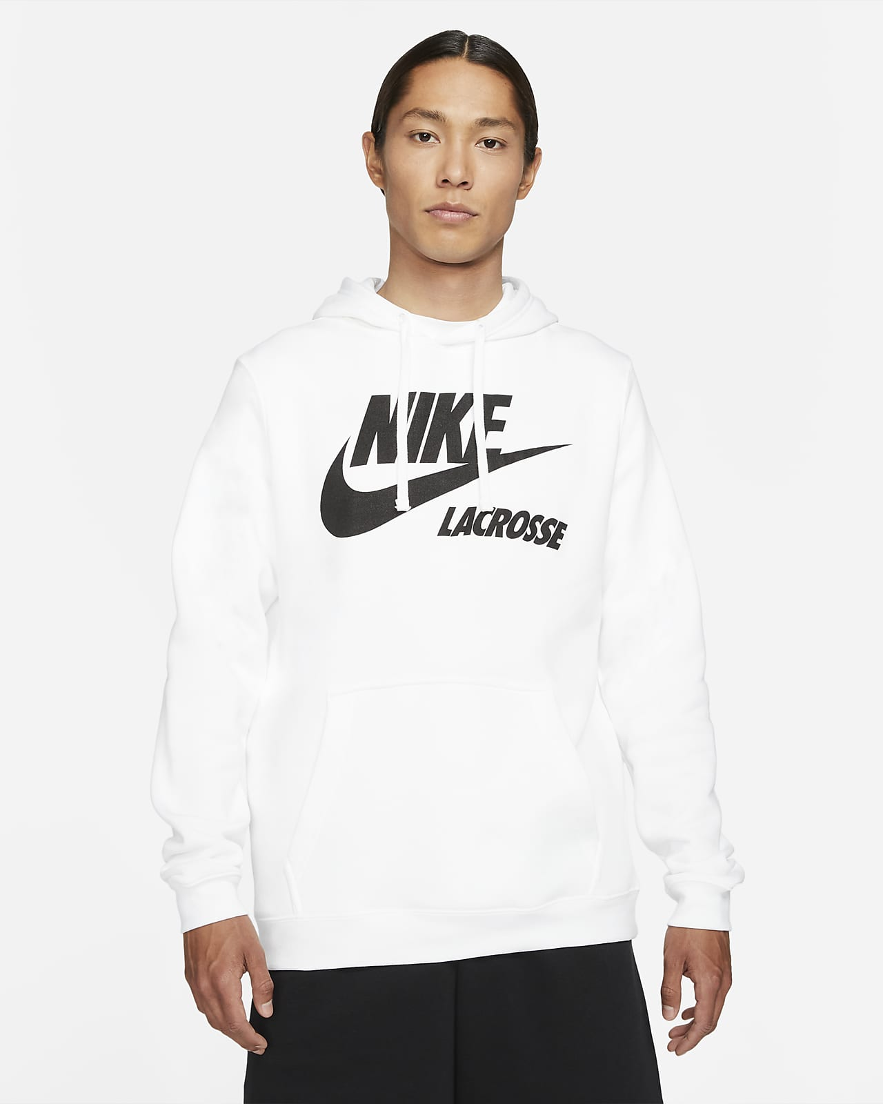 Nike Club Fleece Men's Lacrosse Hoodie