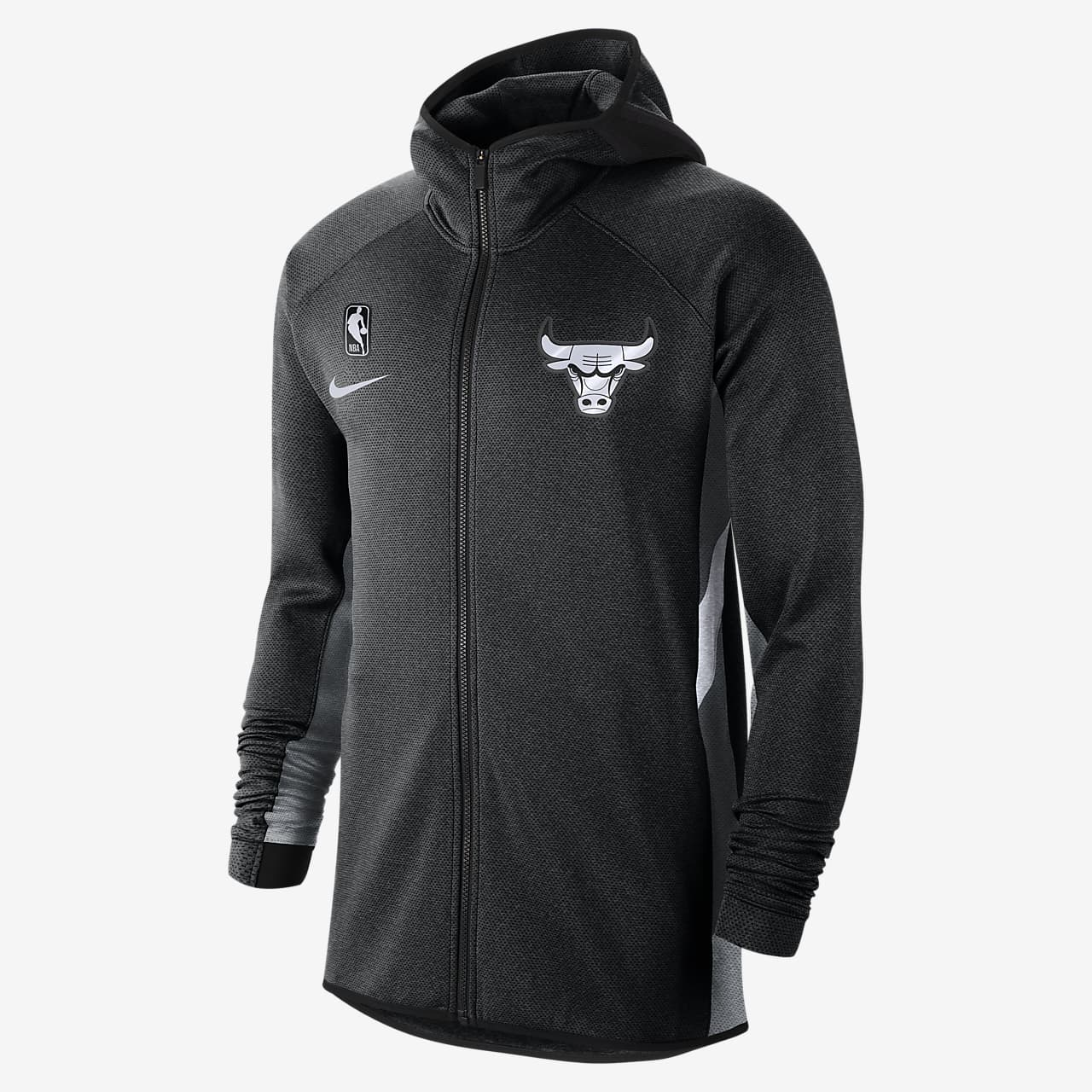 Bulls Nike Therma Flex Showtime Men's NBA Hoodie