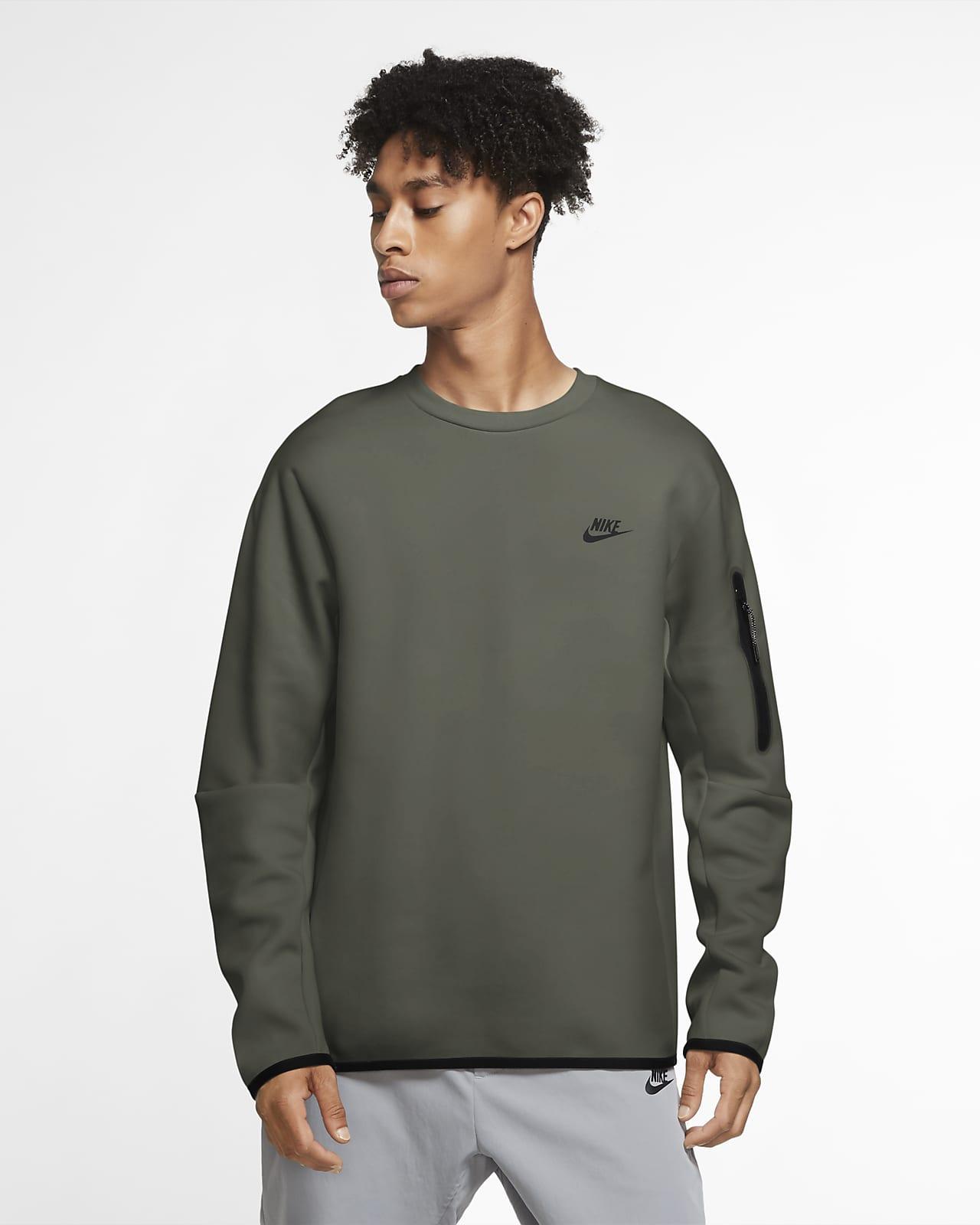 Maglia a girocollo Nike Sportswear Tech Fleece - Uomo