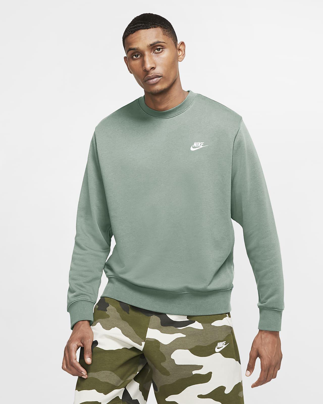 Męska bluza z dzianiny Nike Sportswear Club